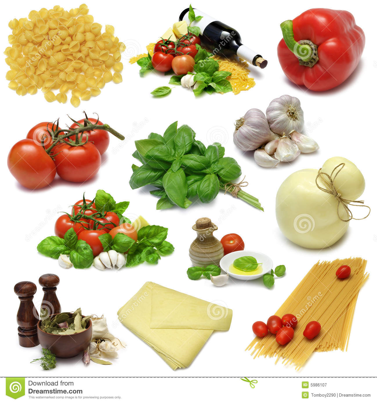 Italian cooking sampler royalty free stock photography for About italian cuisine