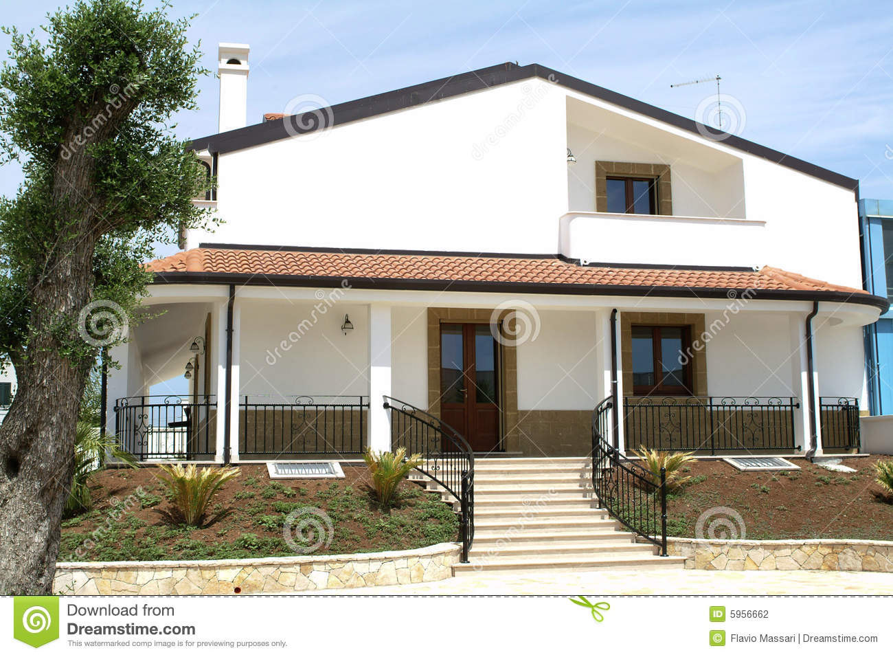 Italian country home