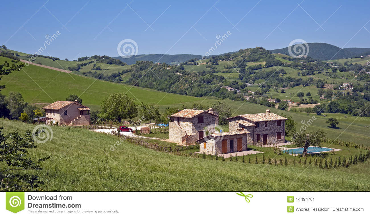 Italian Country House Stock Image Image 14494761