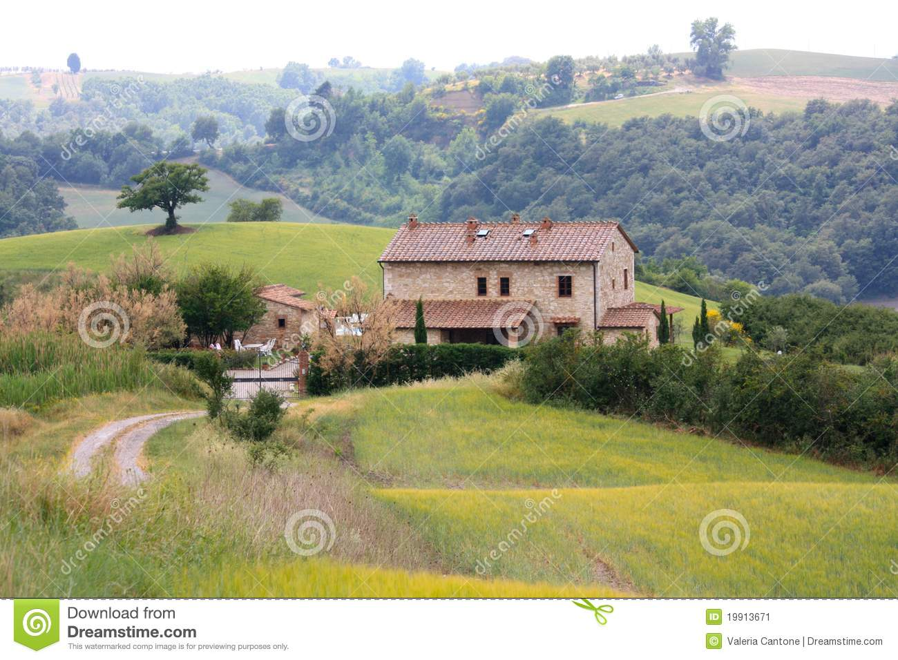 Tuscan Villa House Plans Italian Country Villa In Tuscany Stock Image Image 19913671