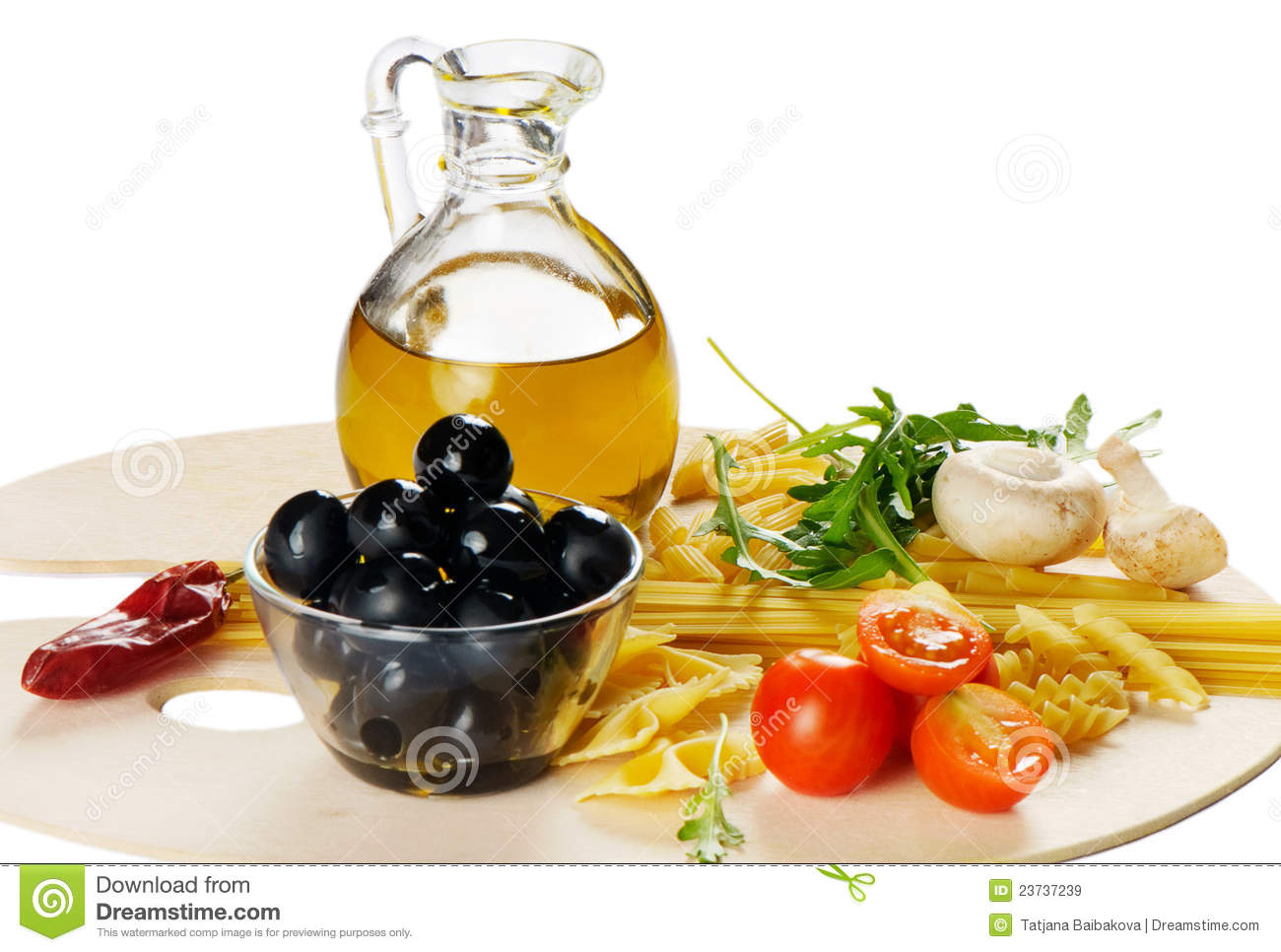 Italian cuisine pasta and olive oil royalty free stock for About italian cuisine