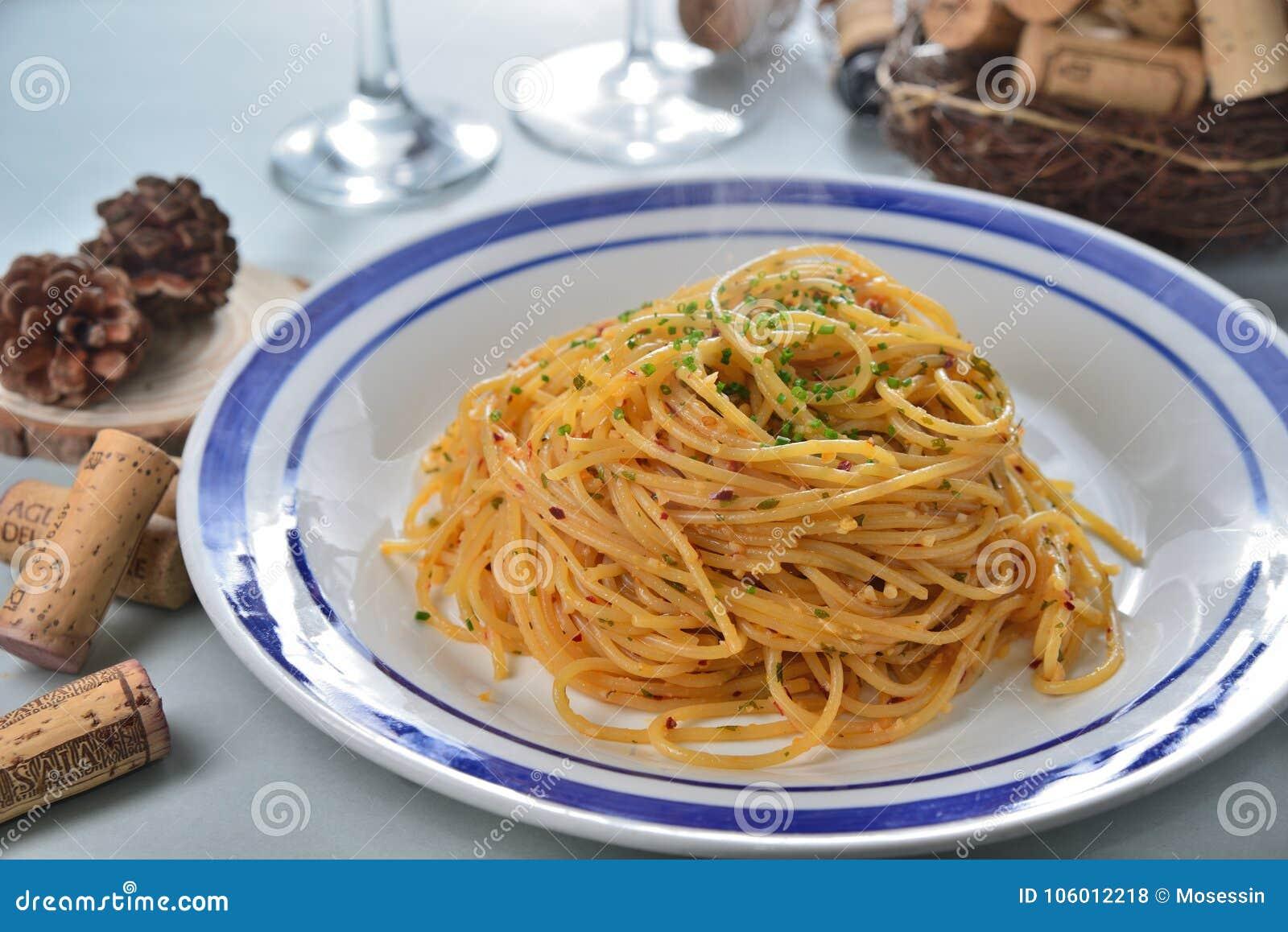 Garlic Spagetti