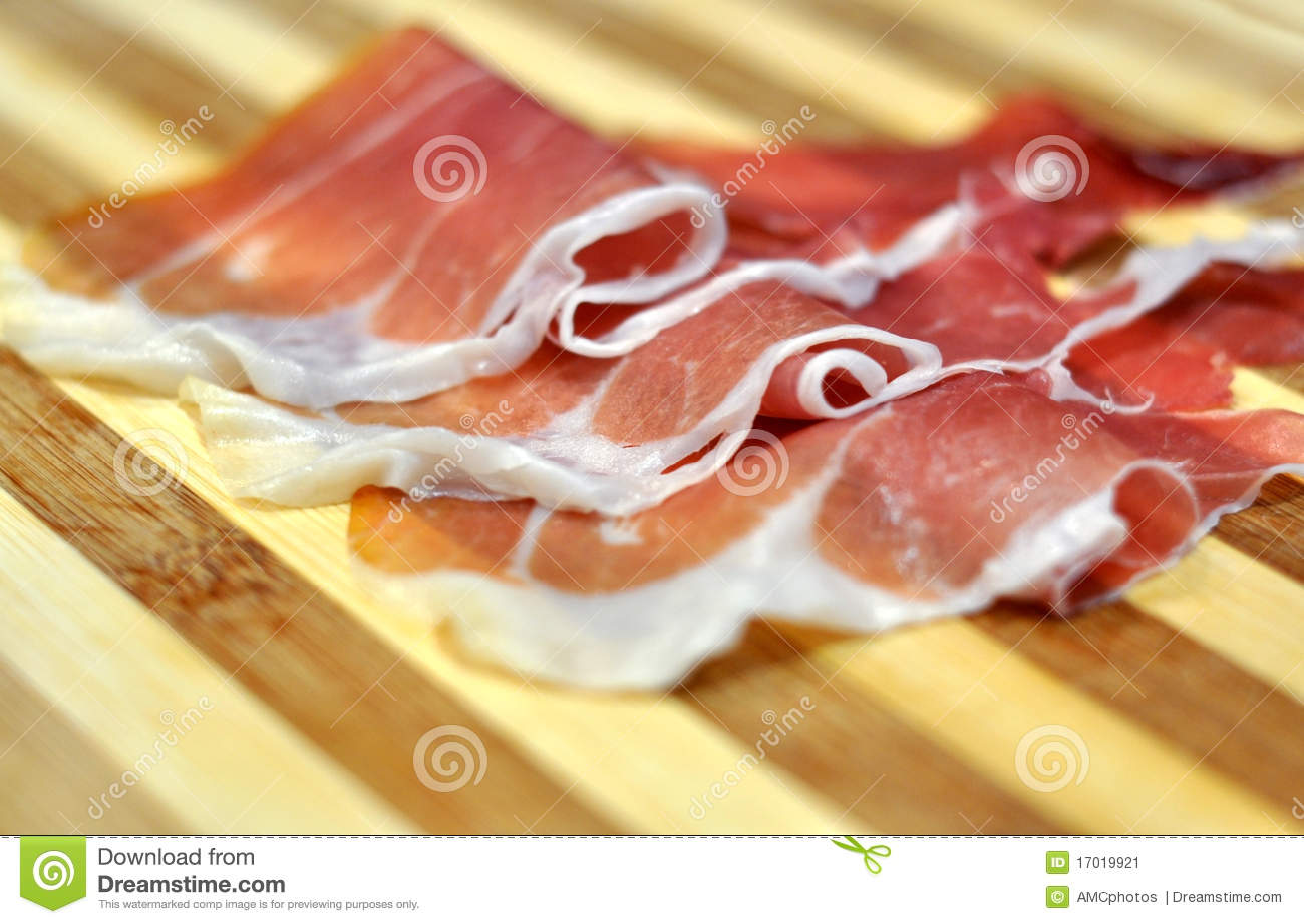 Italian cured ham