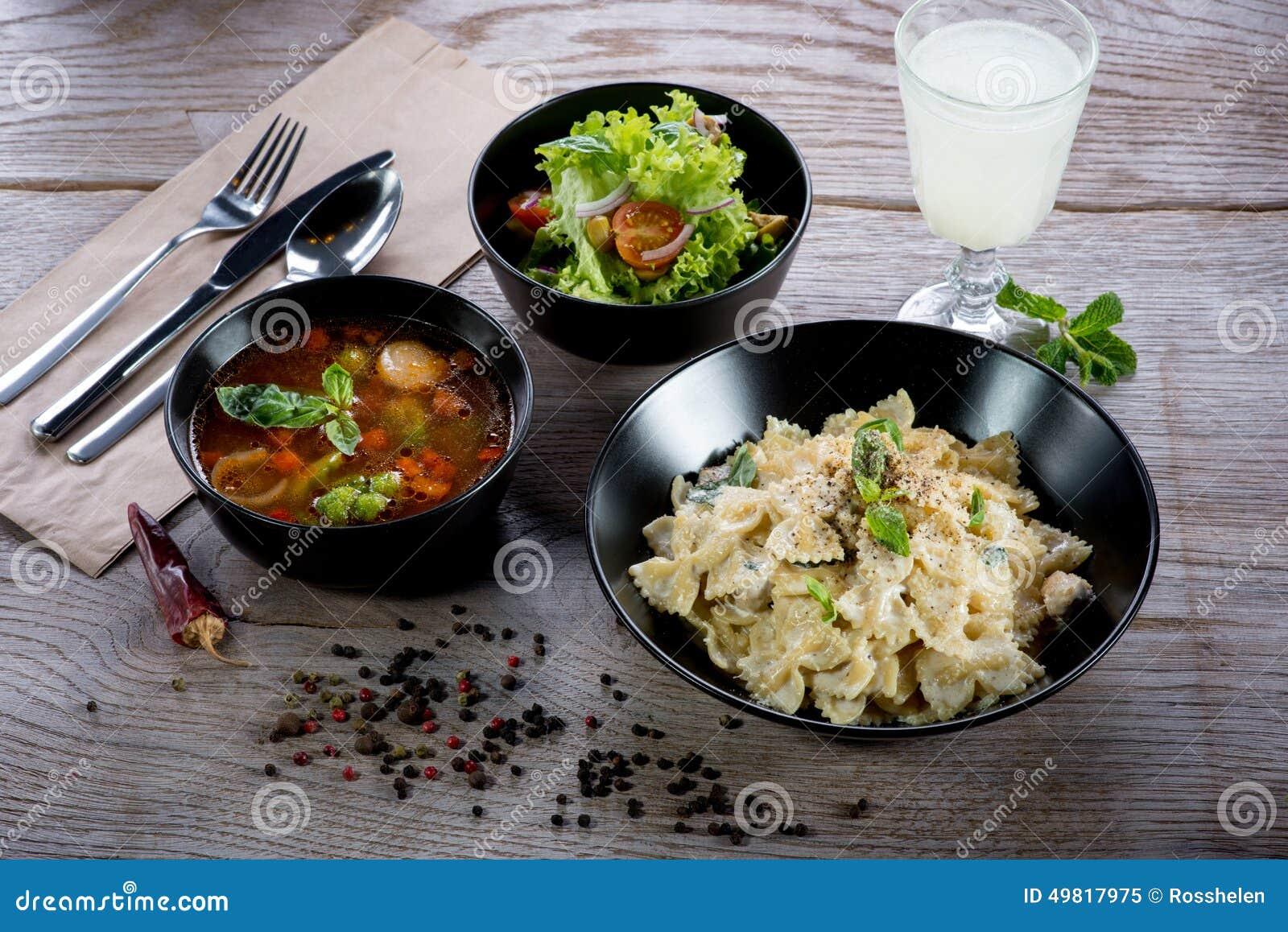 Italian dinner stock photo image 49817975 for Italian dinner