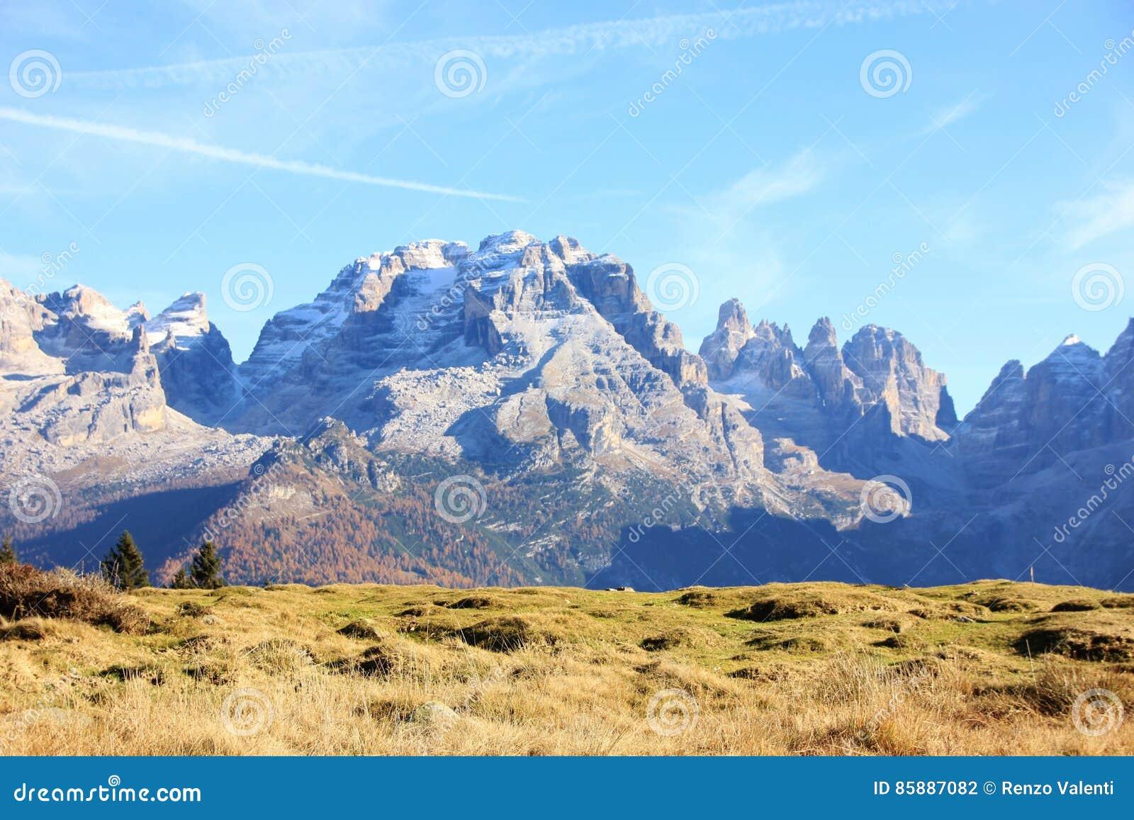 Italian Dolomites near Madonna di Campiglio