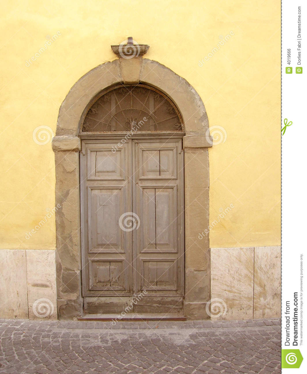 Download Italian Door Stock Photo. Image Of Detail, Exterior, Italy    4019666