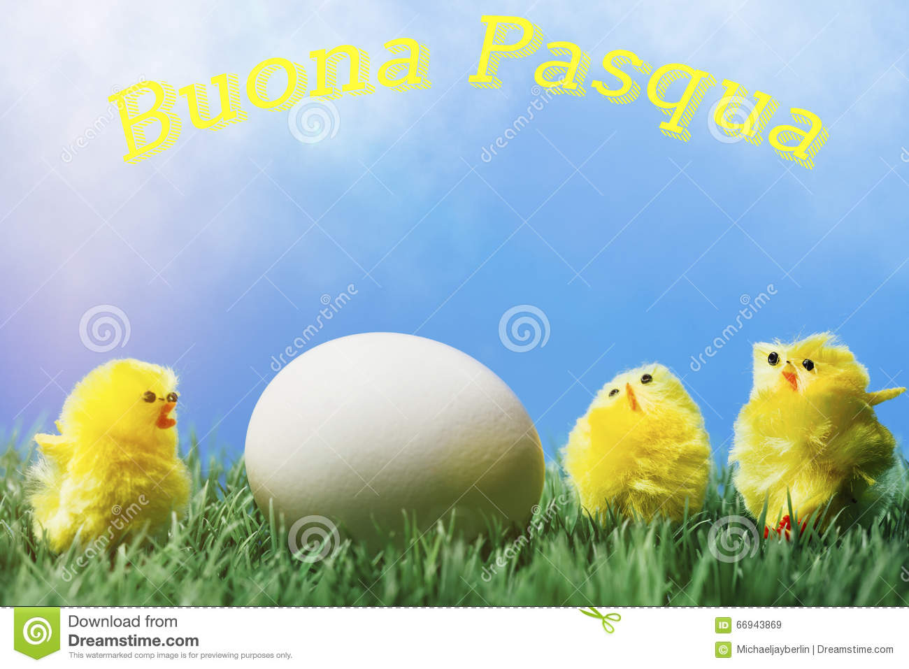 Italian easter greeting text group of chicks surrounding egg italian easter greeting text group of chicks surrounding egg kristyandbryce Gallery