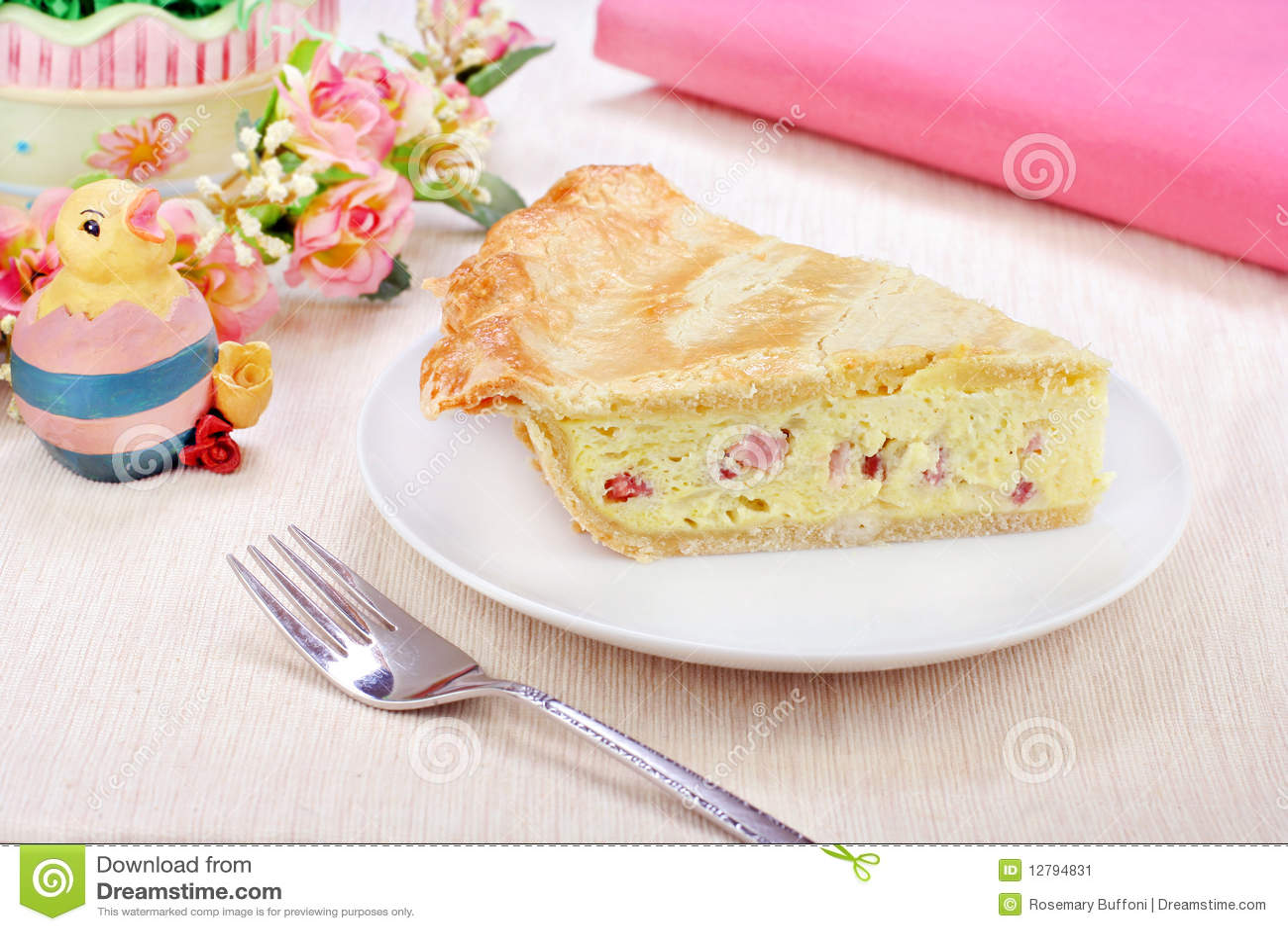 Italian Easter Pie Stock Image - Image: 12794831