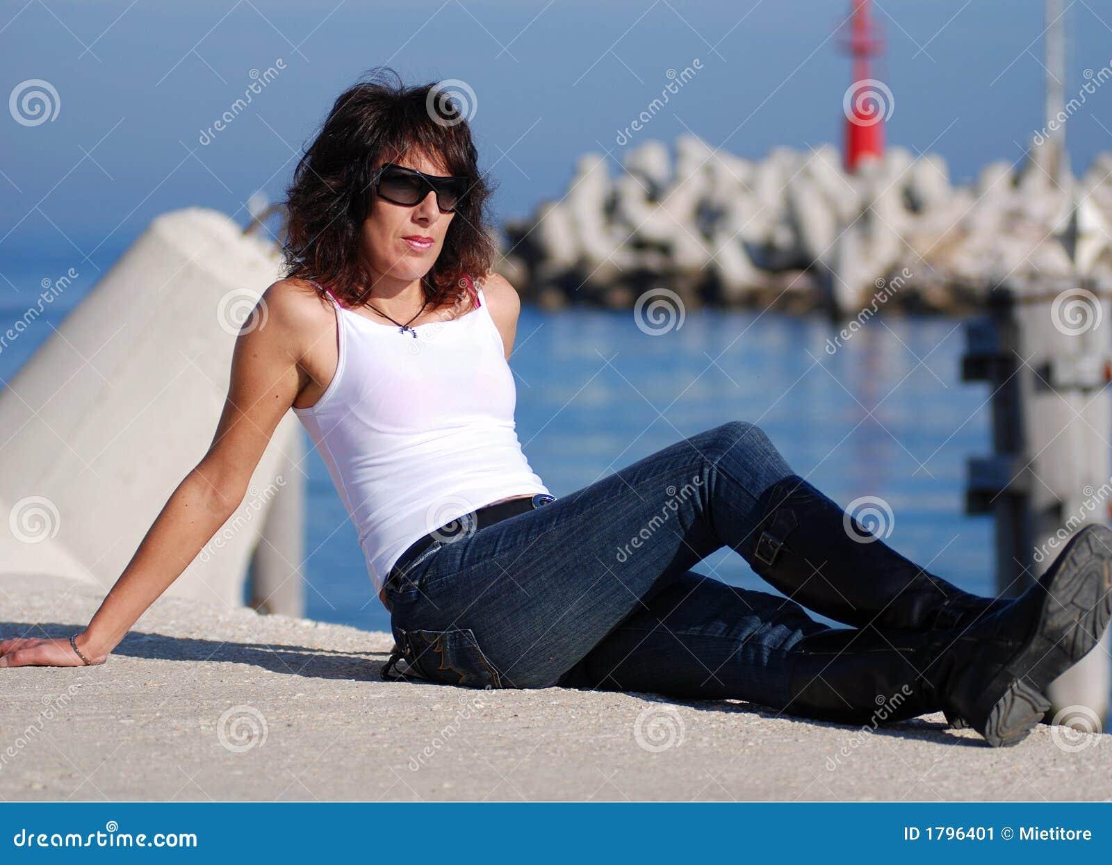 Italian Fashion Woman  Stock Image Image Of Mature - 1796401-6744