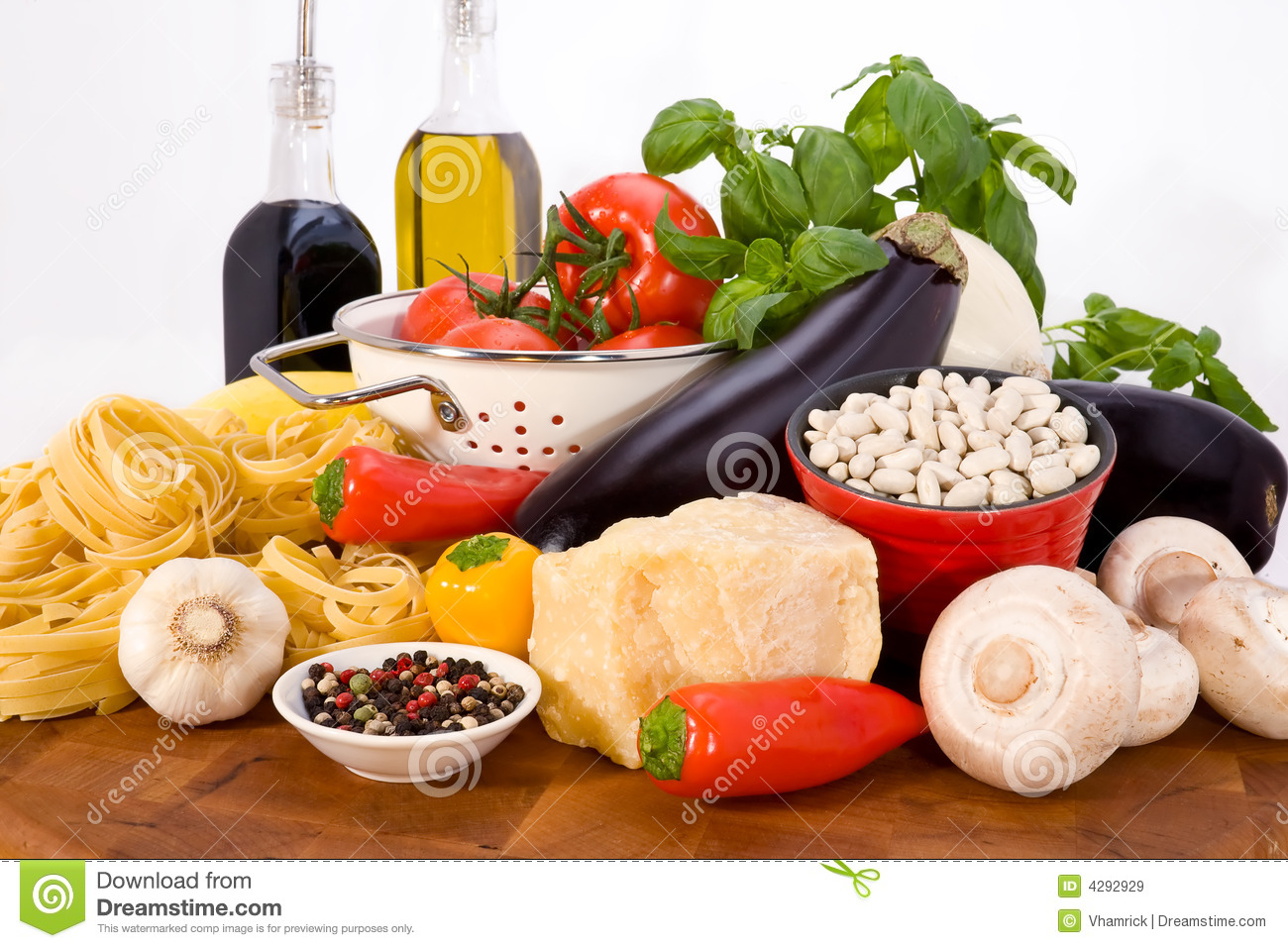 Italian food ingredients stock image image of food for Cuisine 5 ingredients