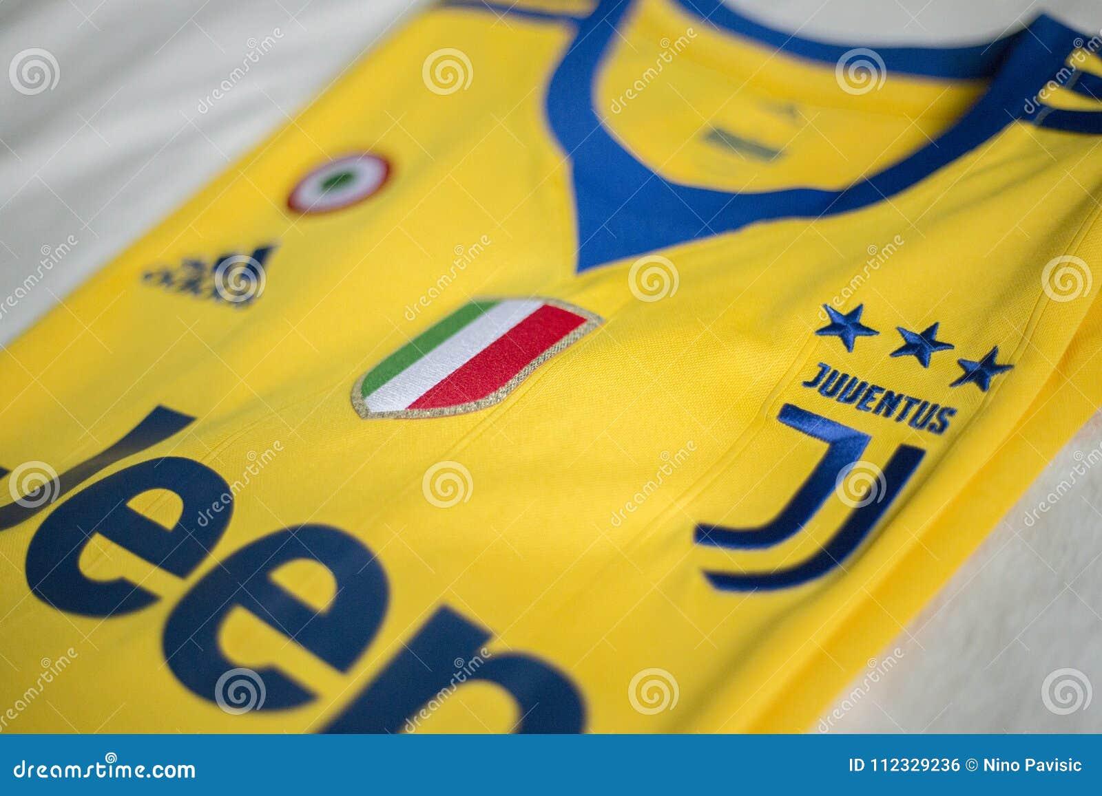 Italian Football Club Fc Juventus Turin Jersey Editorial Photo Image Of Logo Turin 112329236