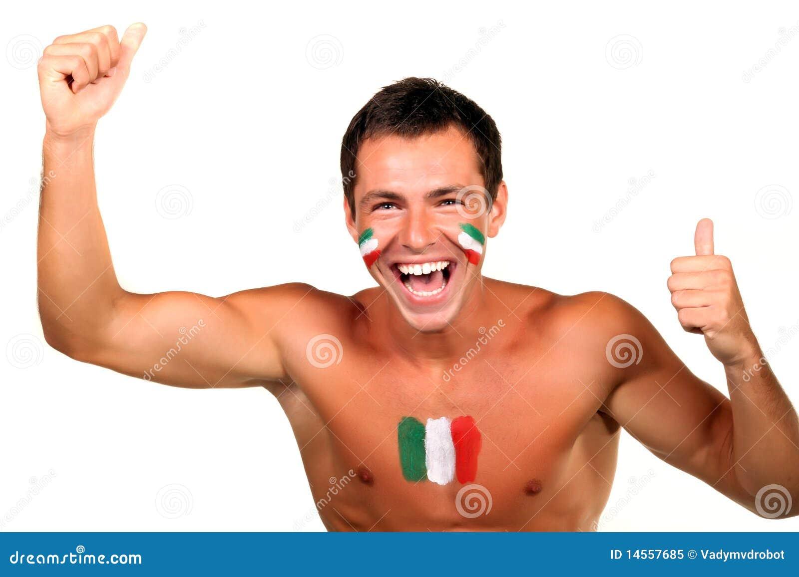 Italian football fan