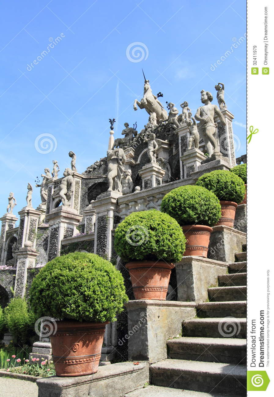 Italian garden design stock image image of garden for Italian garden design