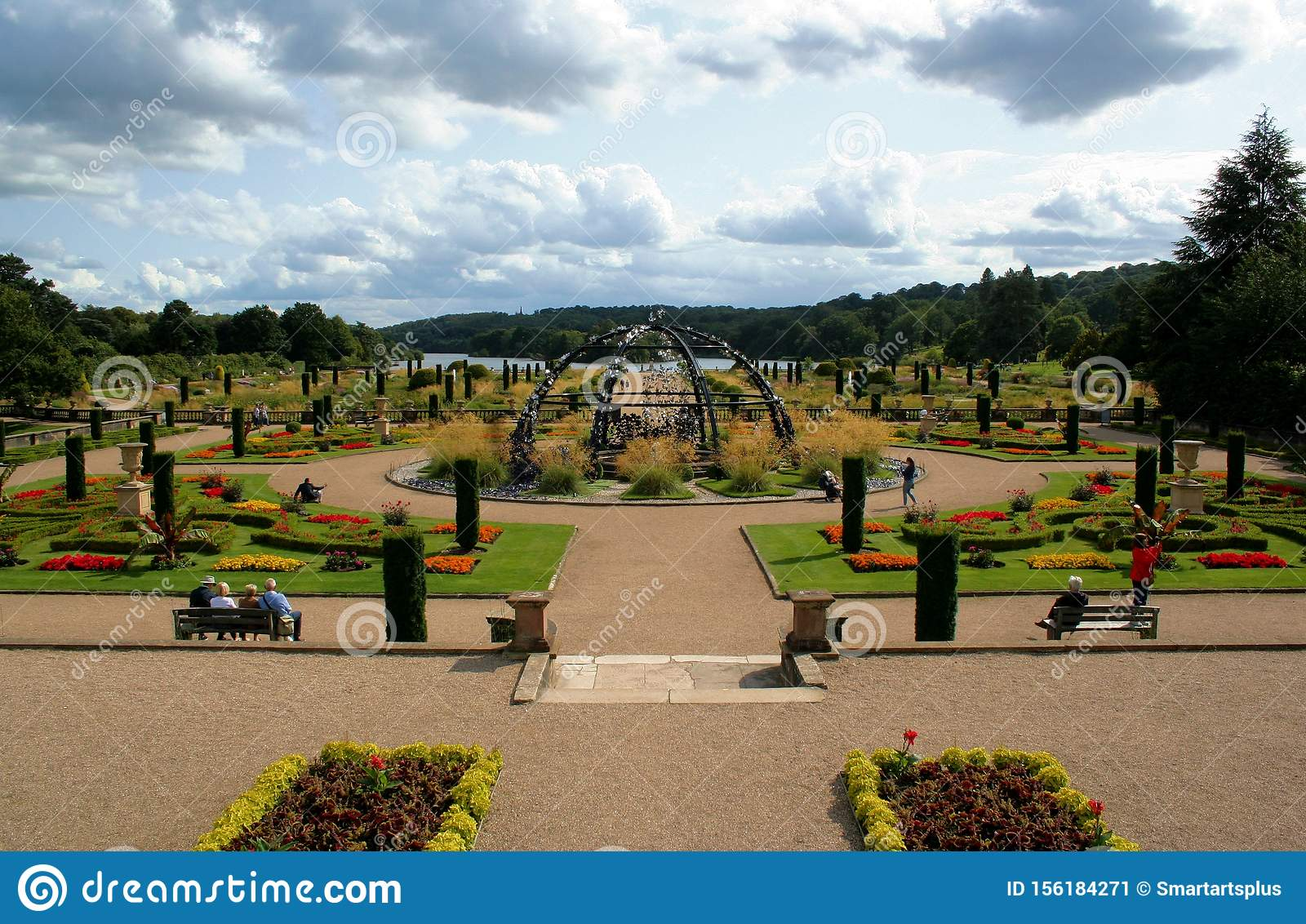 Italian Garden at Trentham Estate