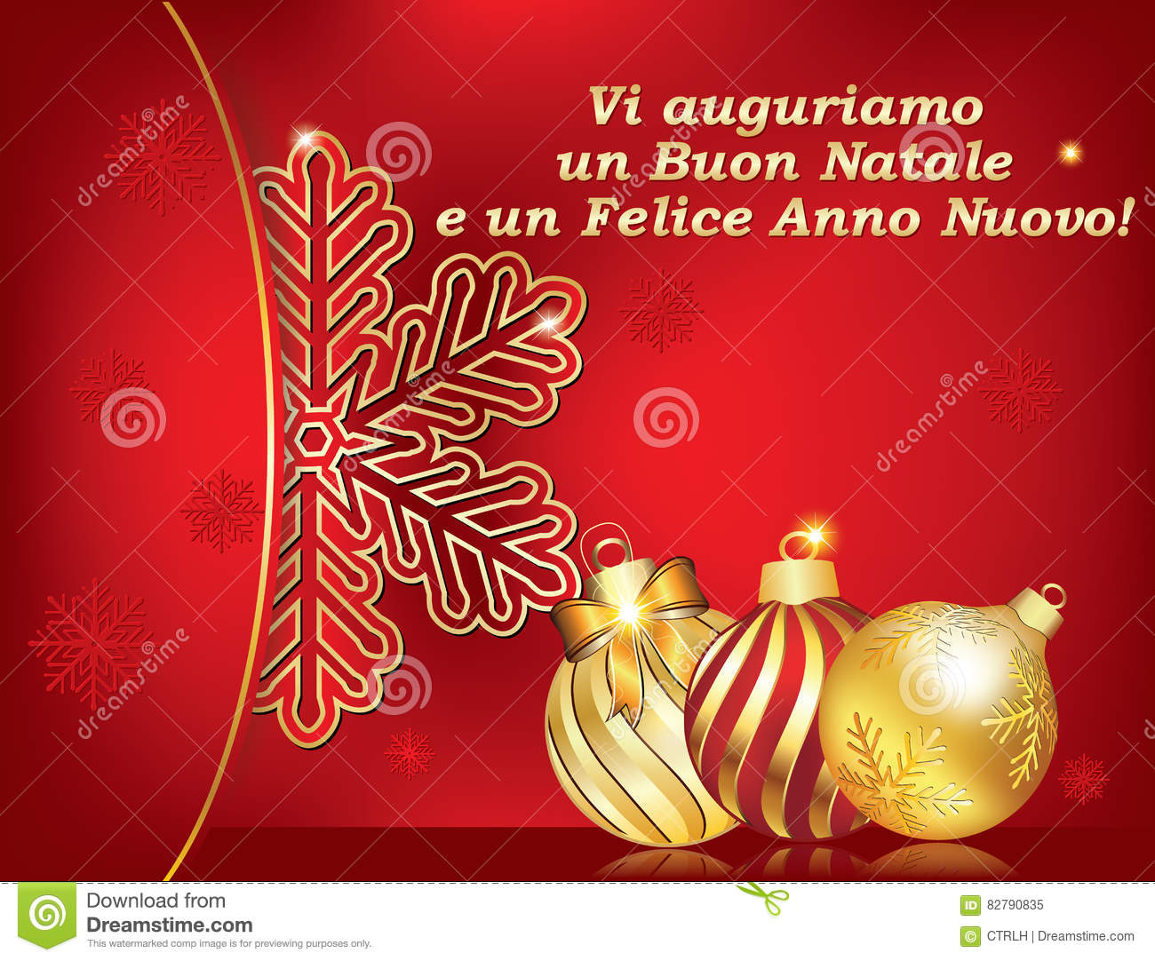 italian greeting card for winter holiday text translation we wish you merry christmas and happy new year print colors used size of a custom postcard - Merry Christmas In Italian Translation