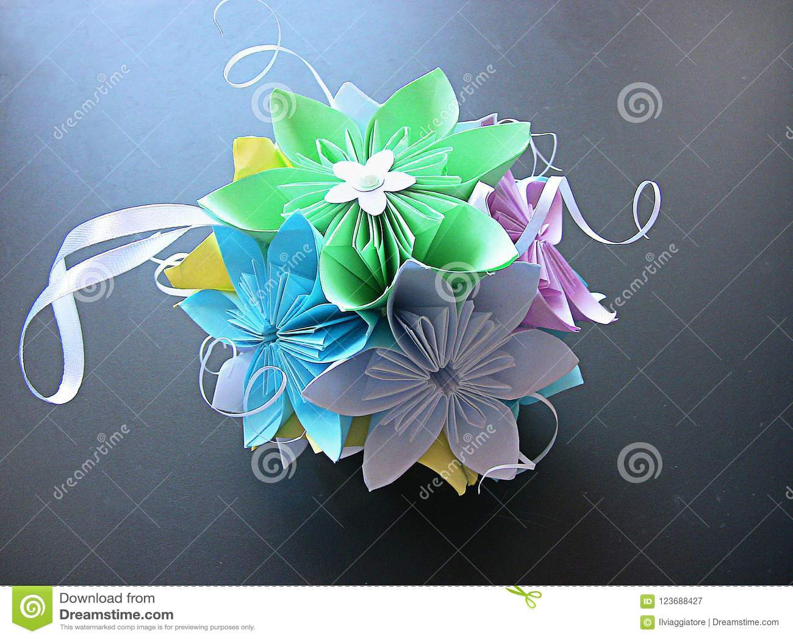 Italian handicraft with paper flowers 2 editorial photography download italian handicraft with paper flowers 2 editorial photography image of decor image mightylinksfo