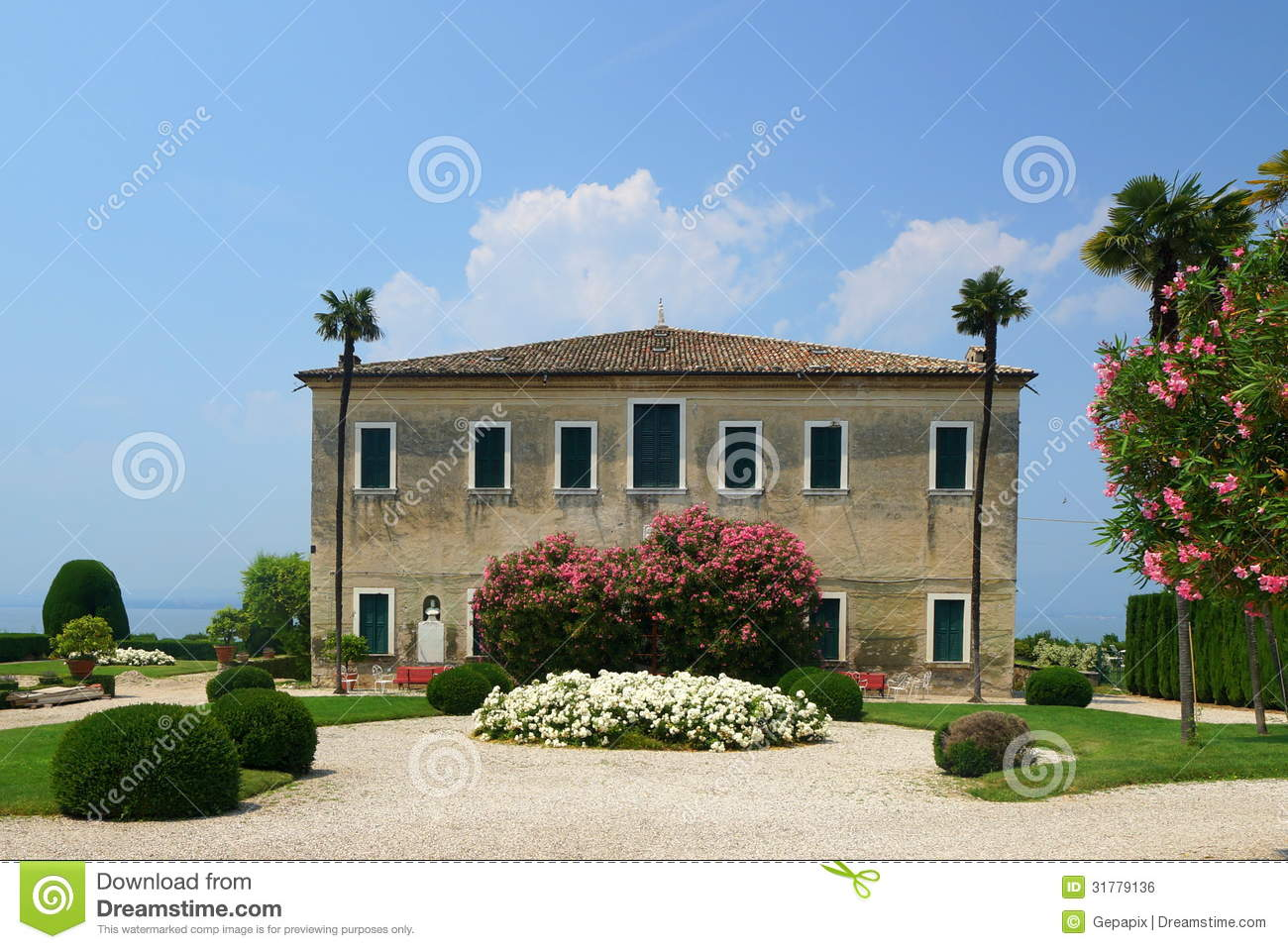 Brenzone Italy  city pictures gallery : italian mansion villa brenzone villa guarienti di brenzone th century ...