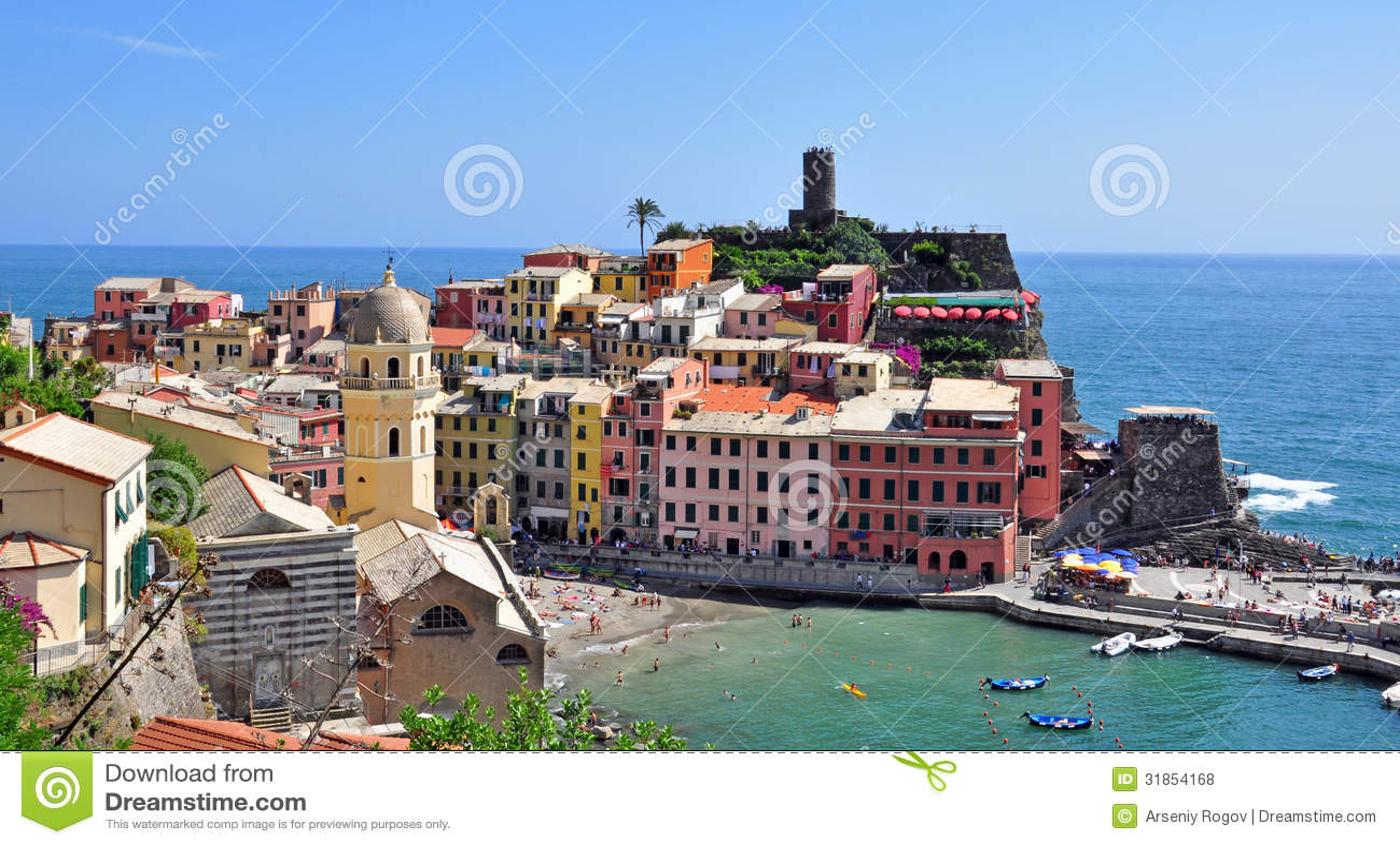 Italian House Plans Italian Mediterranean Landscape Royalty Free Stock Photos