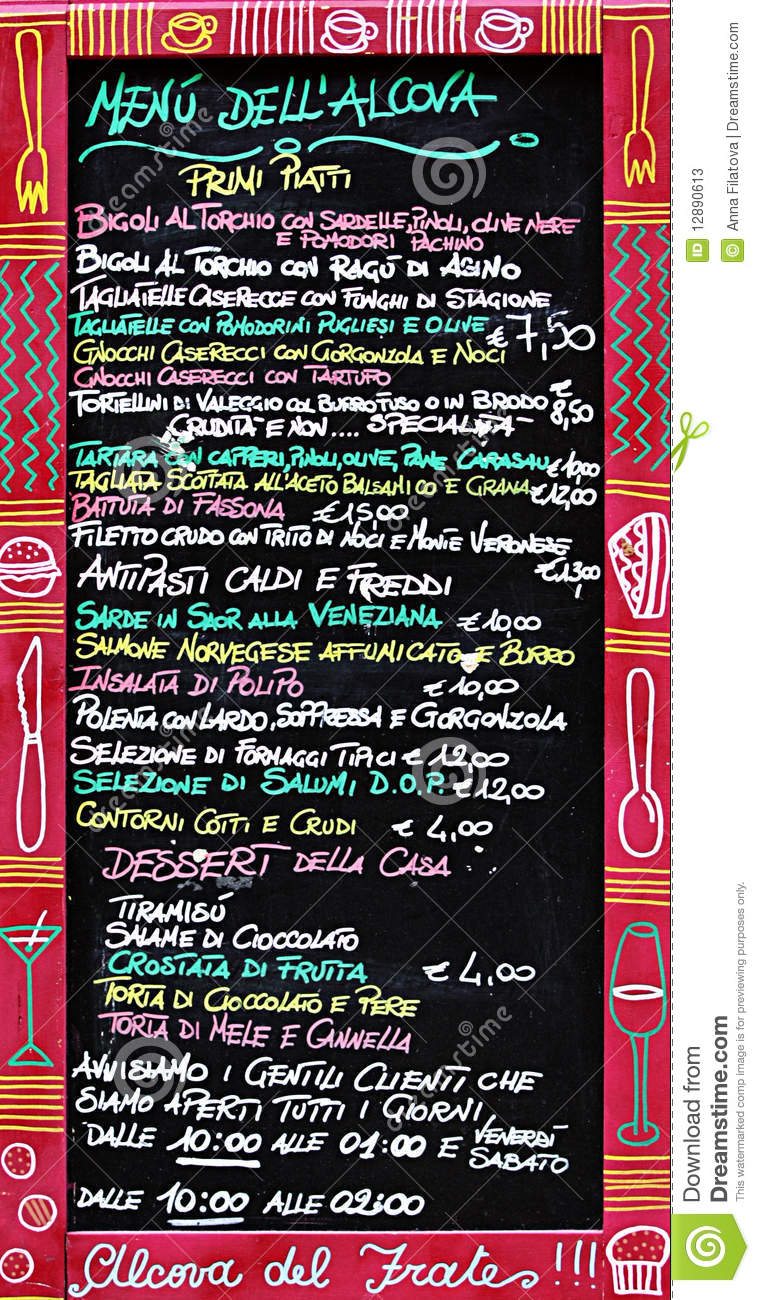 The Urban Hub Cafe Menu
