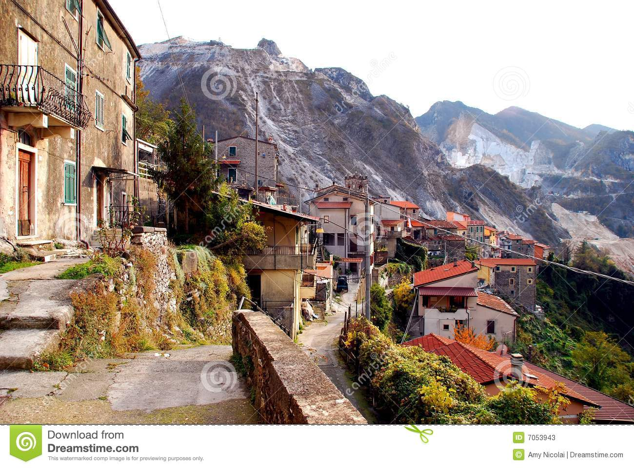 ... of Colonnata, in the marble mountains above Carrara in Tuscany