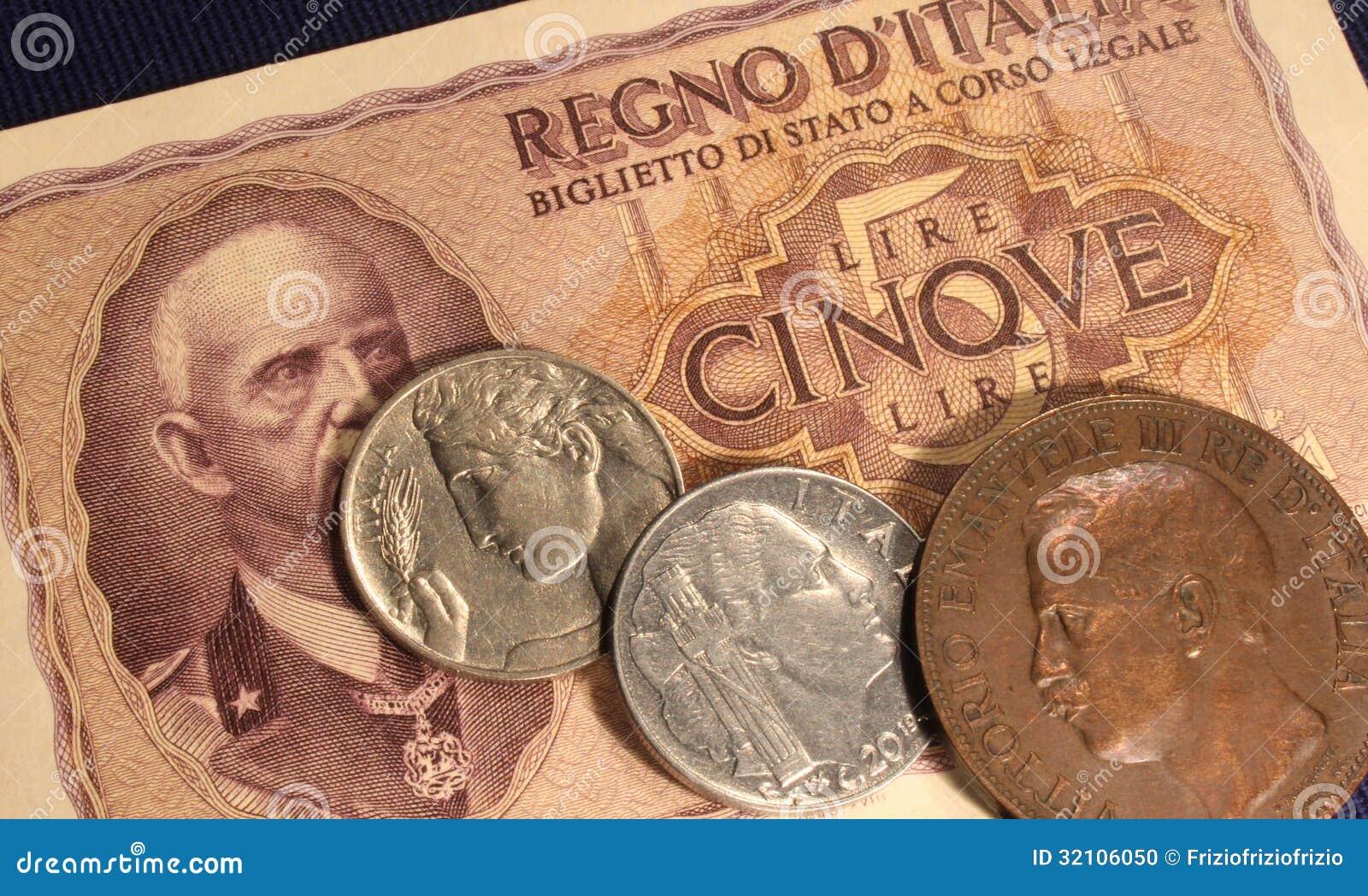 какие деньги в италии название