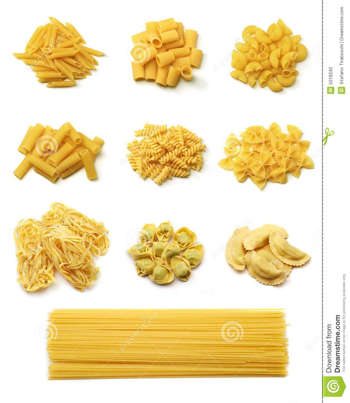 Italian pasta collection