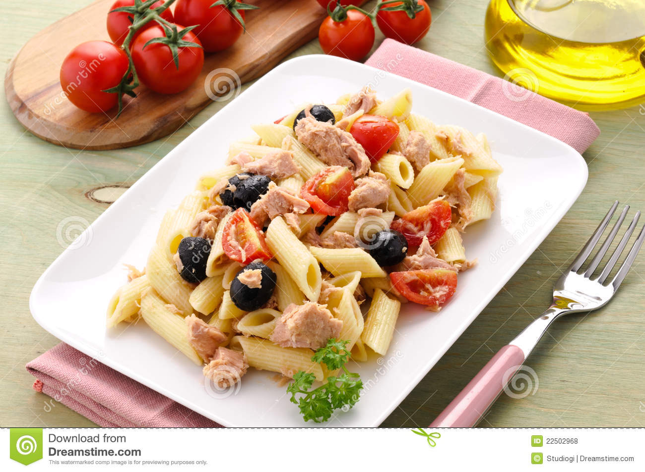 Pasta With Tuna And Capers In White Wine Sauce Recipes — Dishmaps
