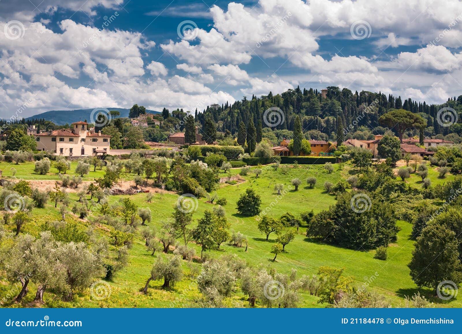 Italian region Tuscany