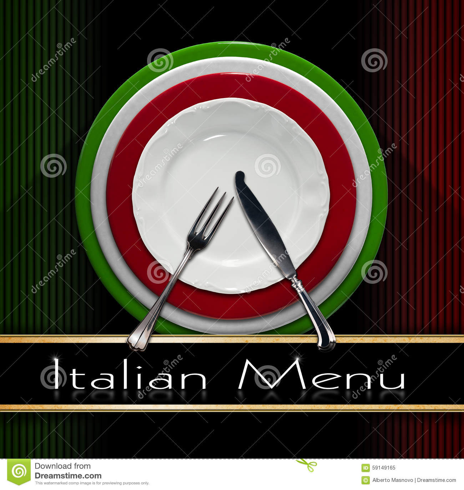 Italian Restaurant Menu Design Stock Illustration - Image ... - photo#38