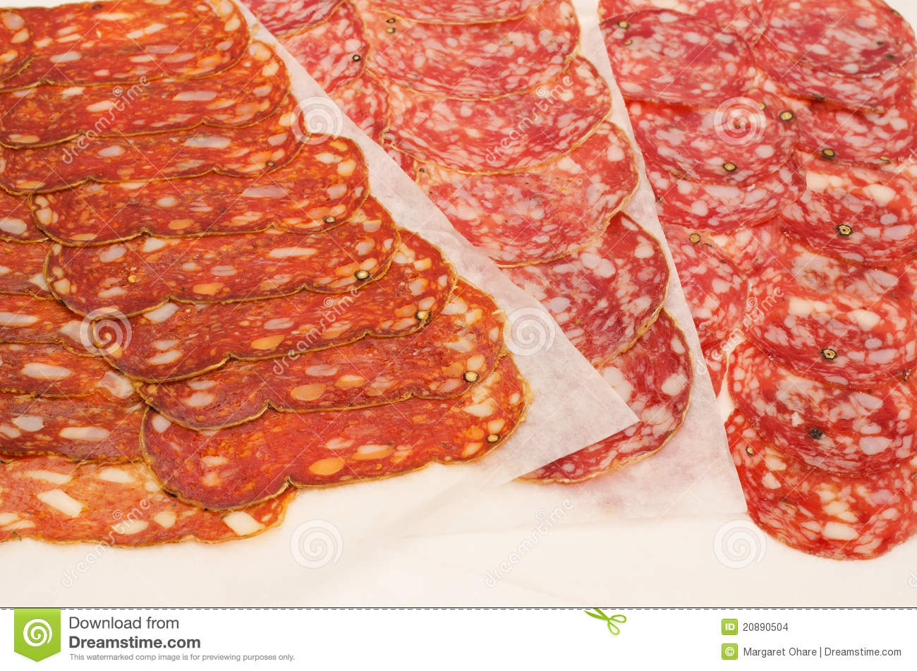 Stock Images Italian Salami Image20890504 on types of ham cold cuts