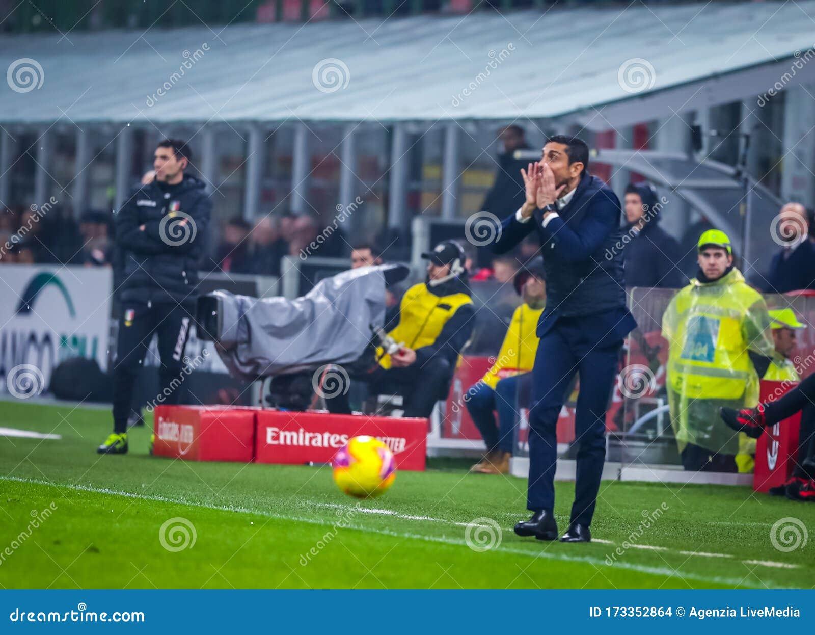 Italian Serie A Soccer Match Ac Milan Vs Torino Editorial Stock Image Image Of 201920 Milan 173352864