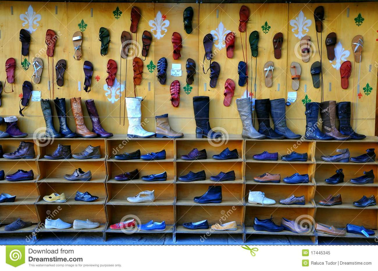 Italian Shoe Market Editorial Image Image Of Boutique