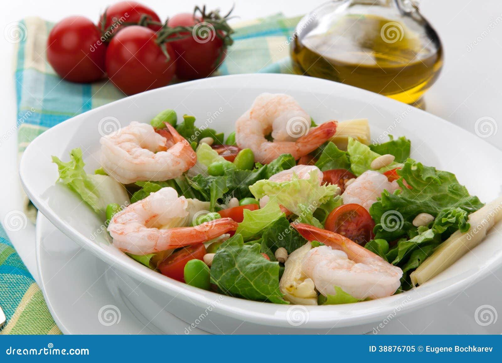 Italian Shrimp Salad Stock Photo - Image: 38876705