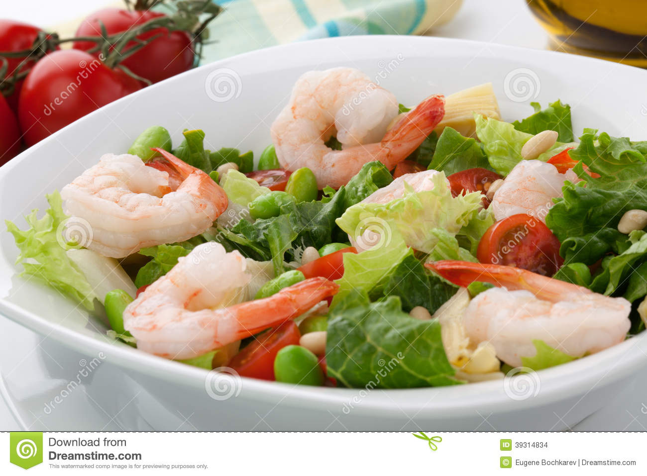 Shrimp And Fava Beans With Tomatoes And Kalamata Olives Recipe ...