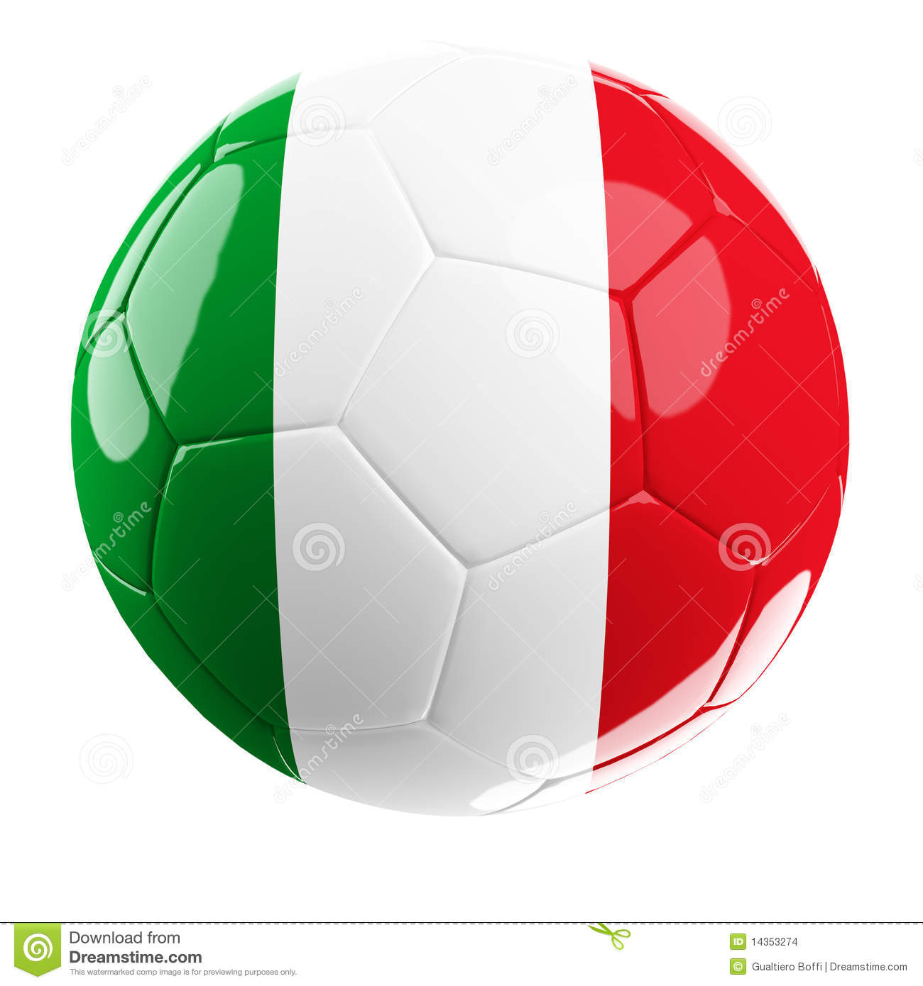 Italy Soccer Ball - Sports and Recreation - Great Clipart for ...