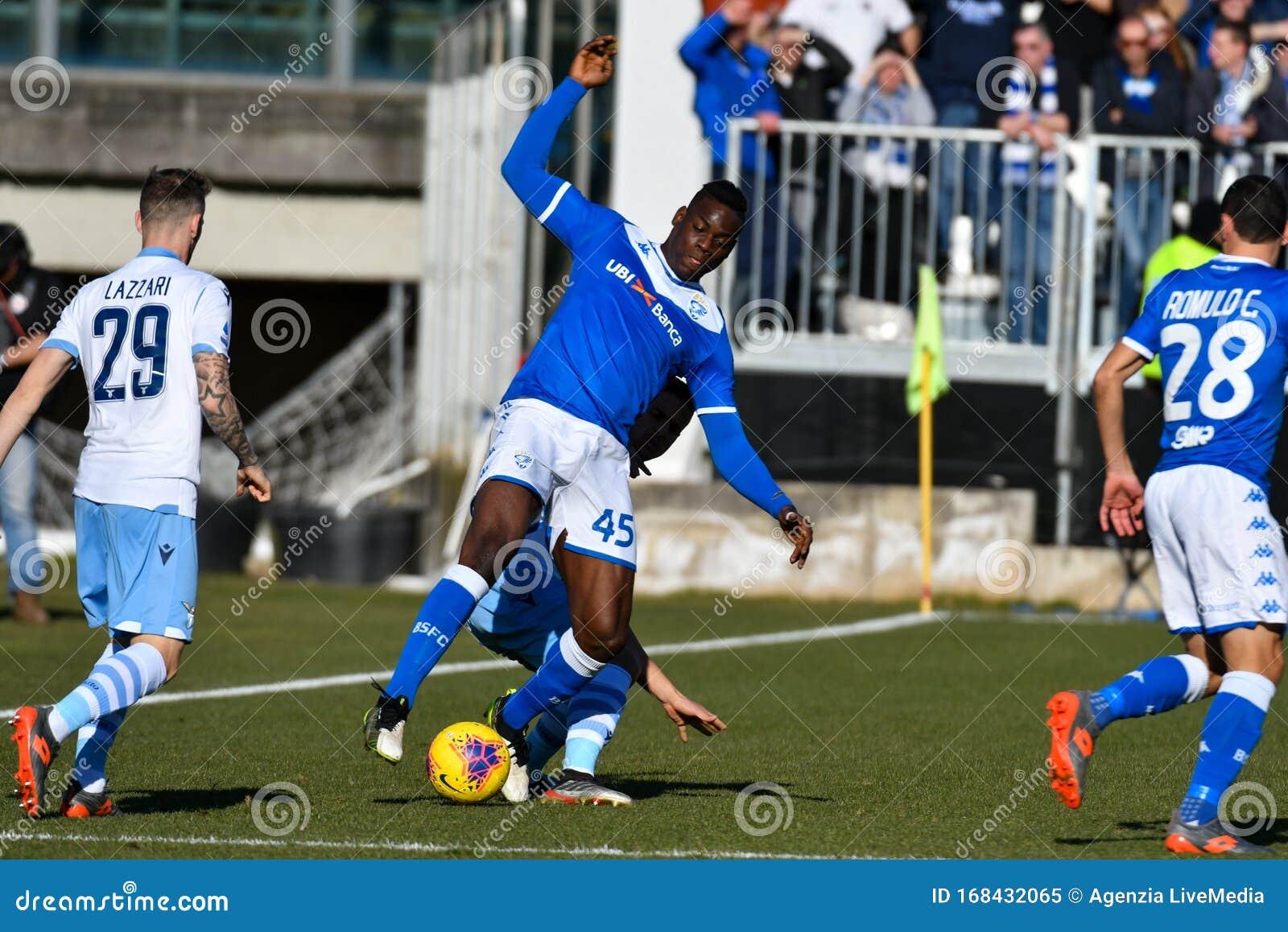 Italian Soccer Serie A Men Championship Brescia Vs Lazio ...