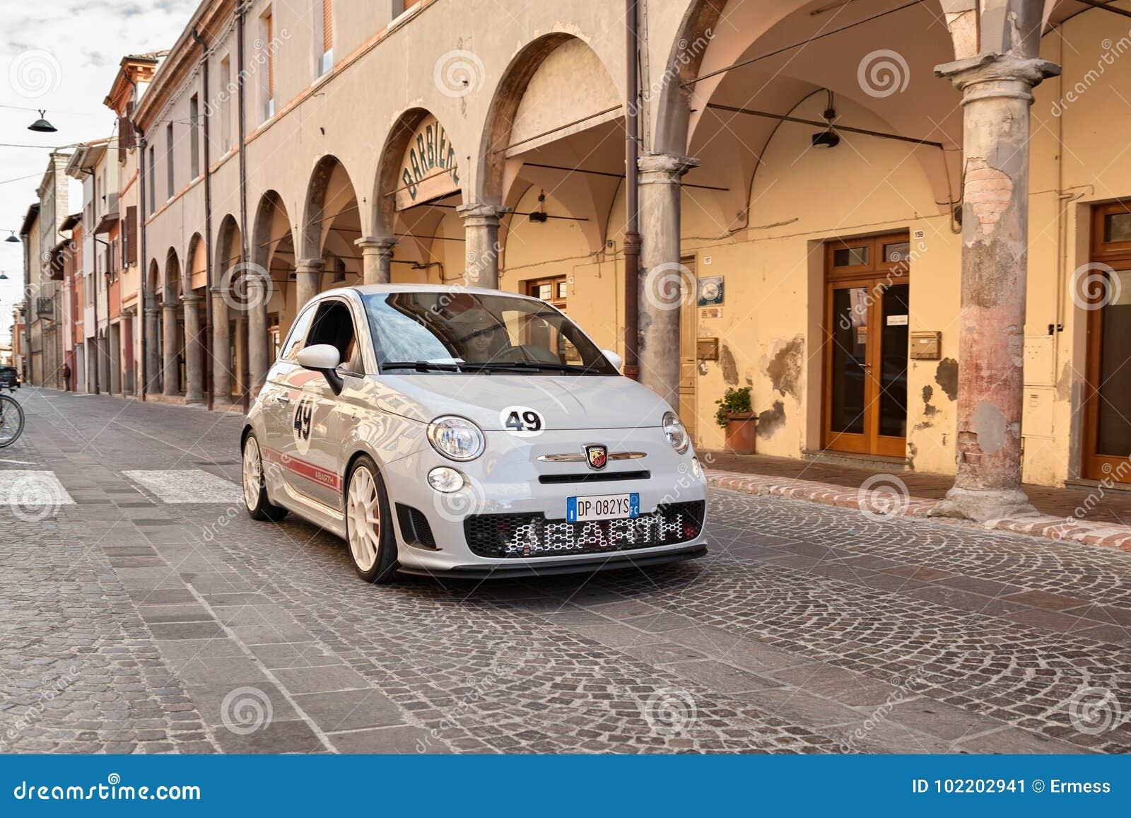 Italian Sports Car Fiat 500 Abarth Esseesse Editorial Photo Image