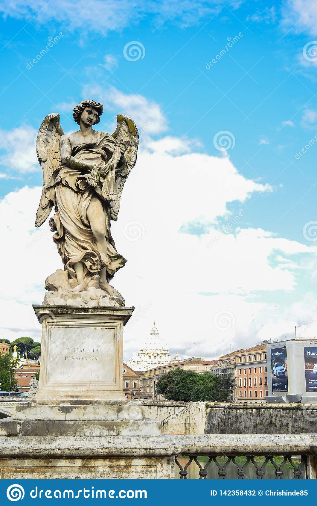 Italian statue daylight