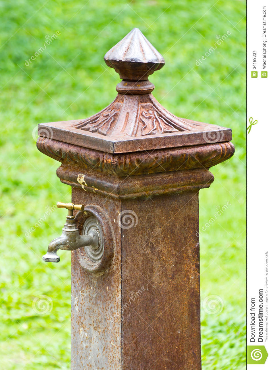 italian style faucet royalty free stock photography