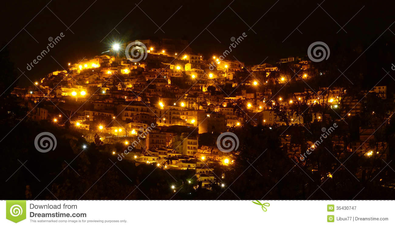 Italian Village by Night