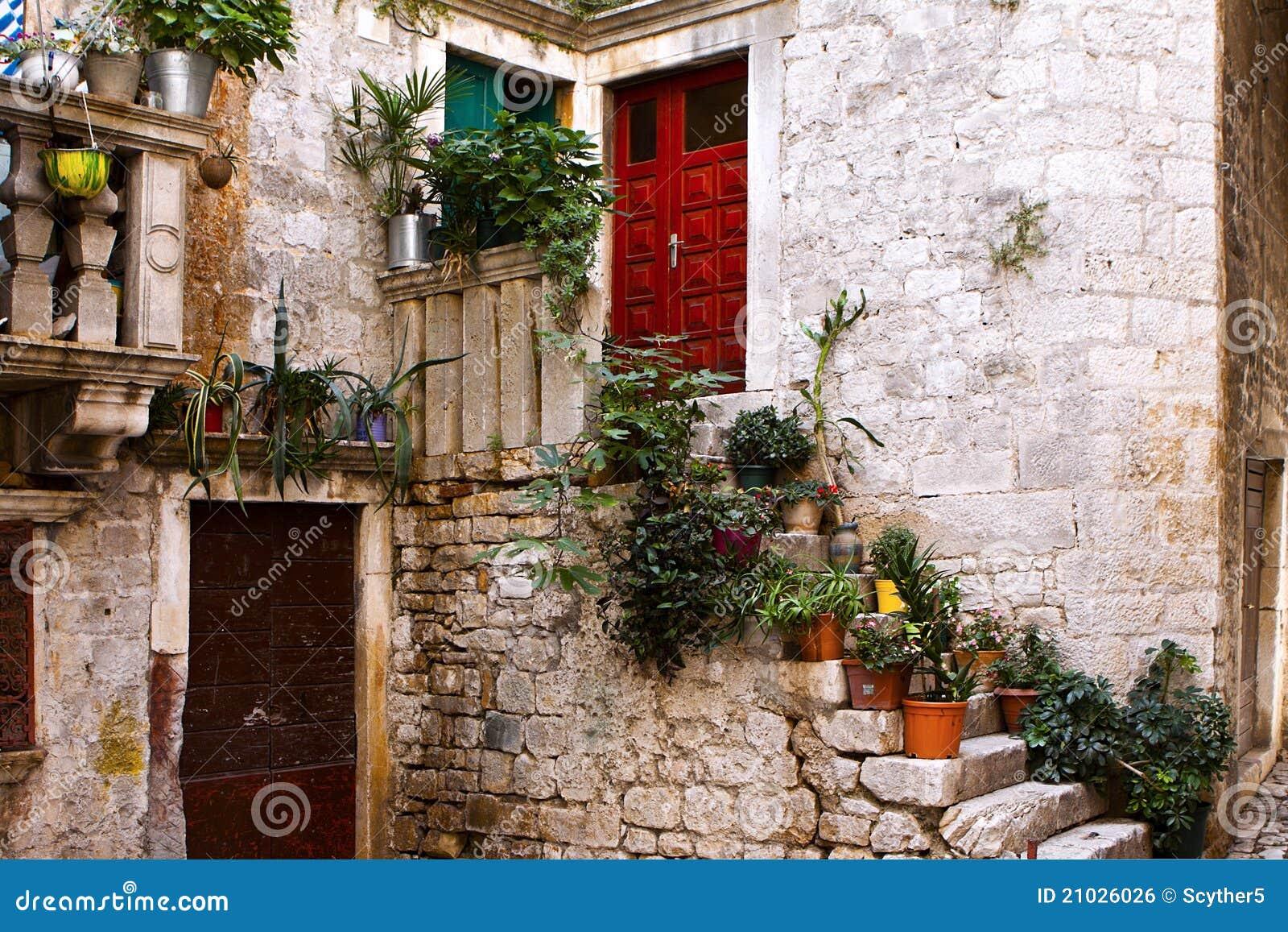 Italian Village Tuscany Royalty Free Stock Image Image