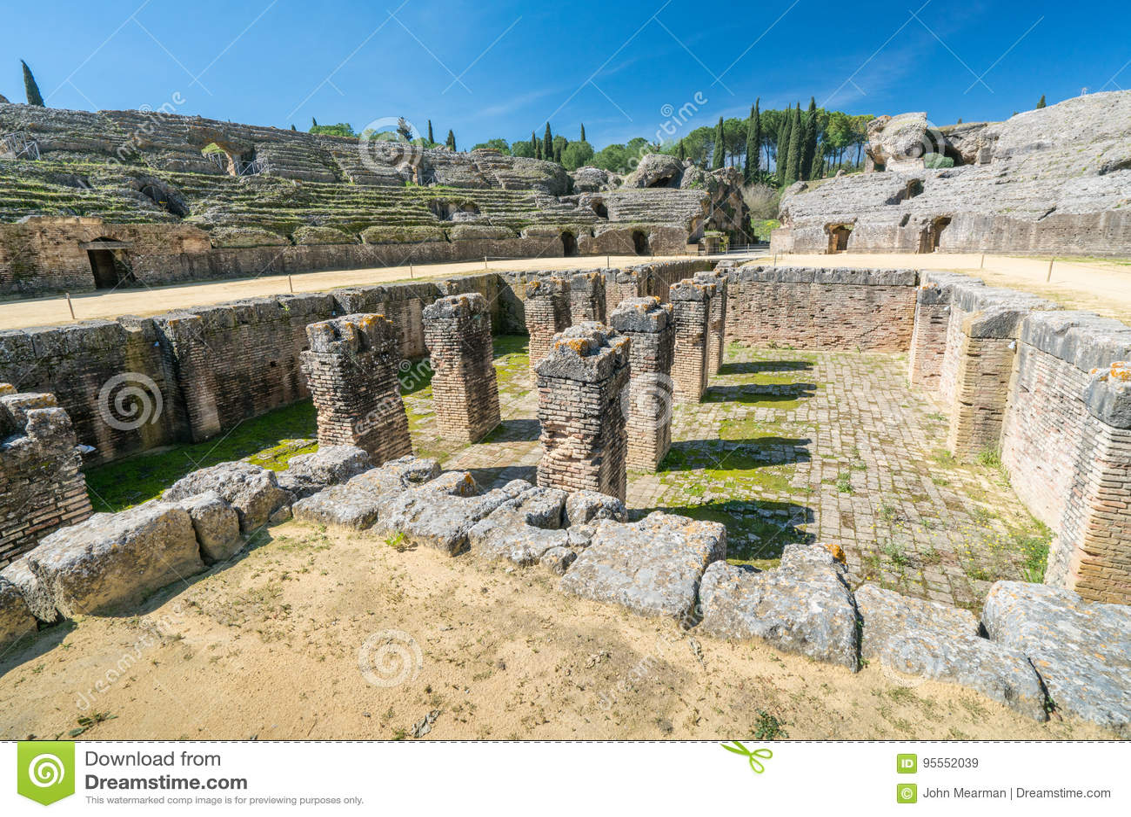 Italica Roman Ruins Spanien