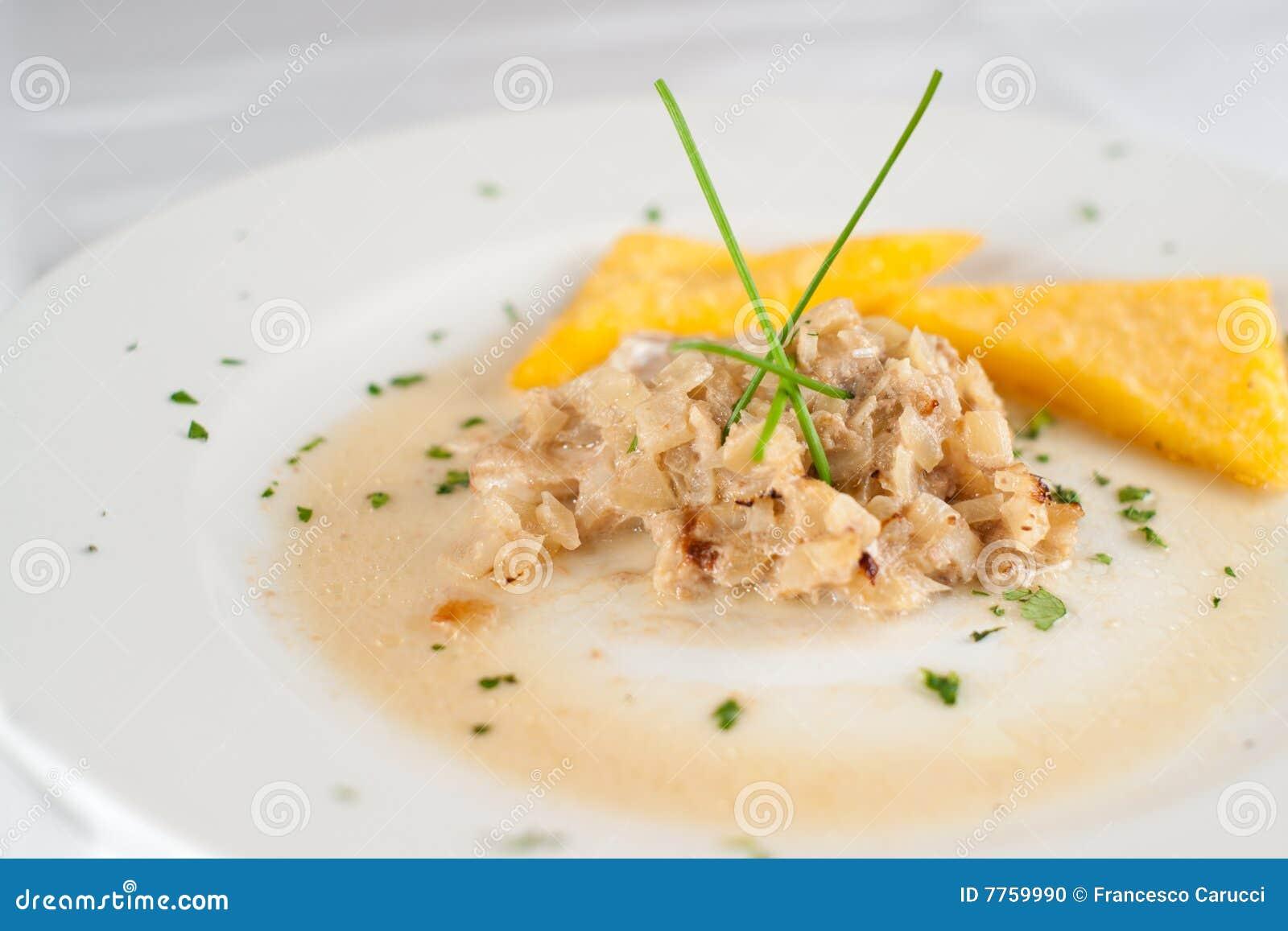 Italien de nourriture de poissons photo stock image du for Nourriture du poisson