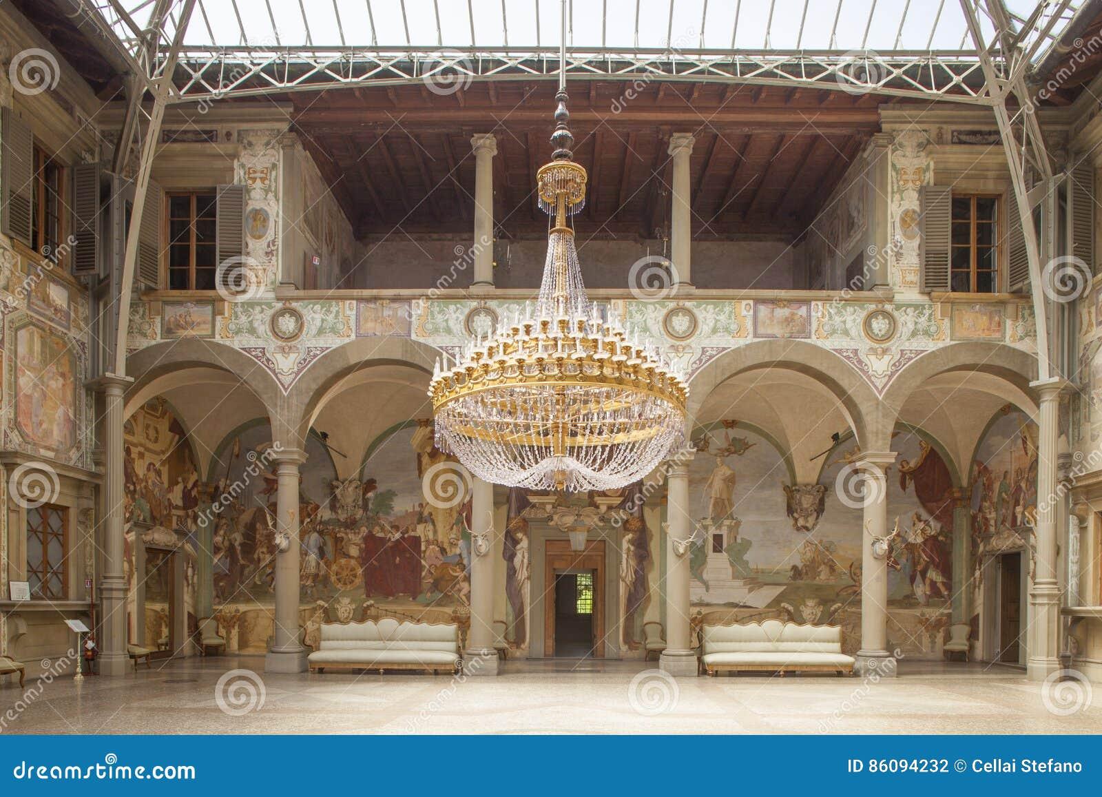 Italien Tuscany, Florence, Petraia villa