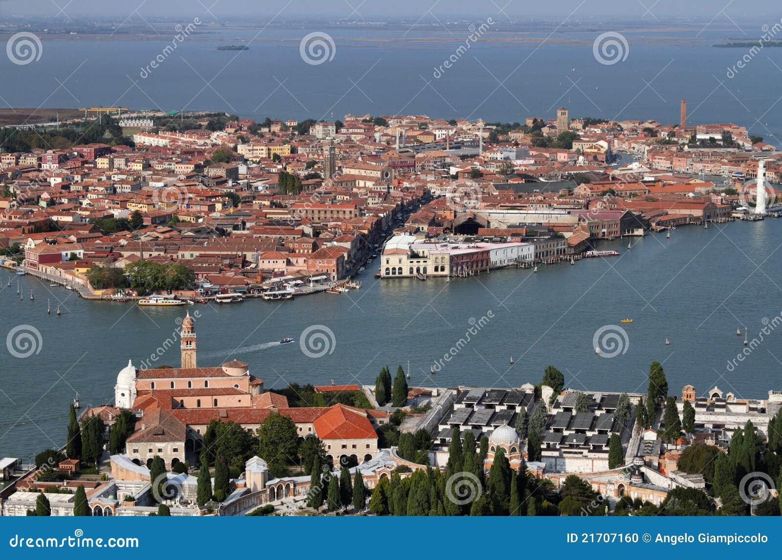 Italien venedig murano insel insel str michele - Murano bilder ...