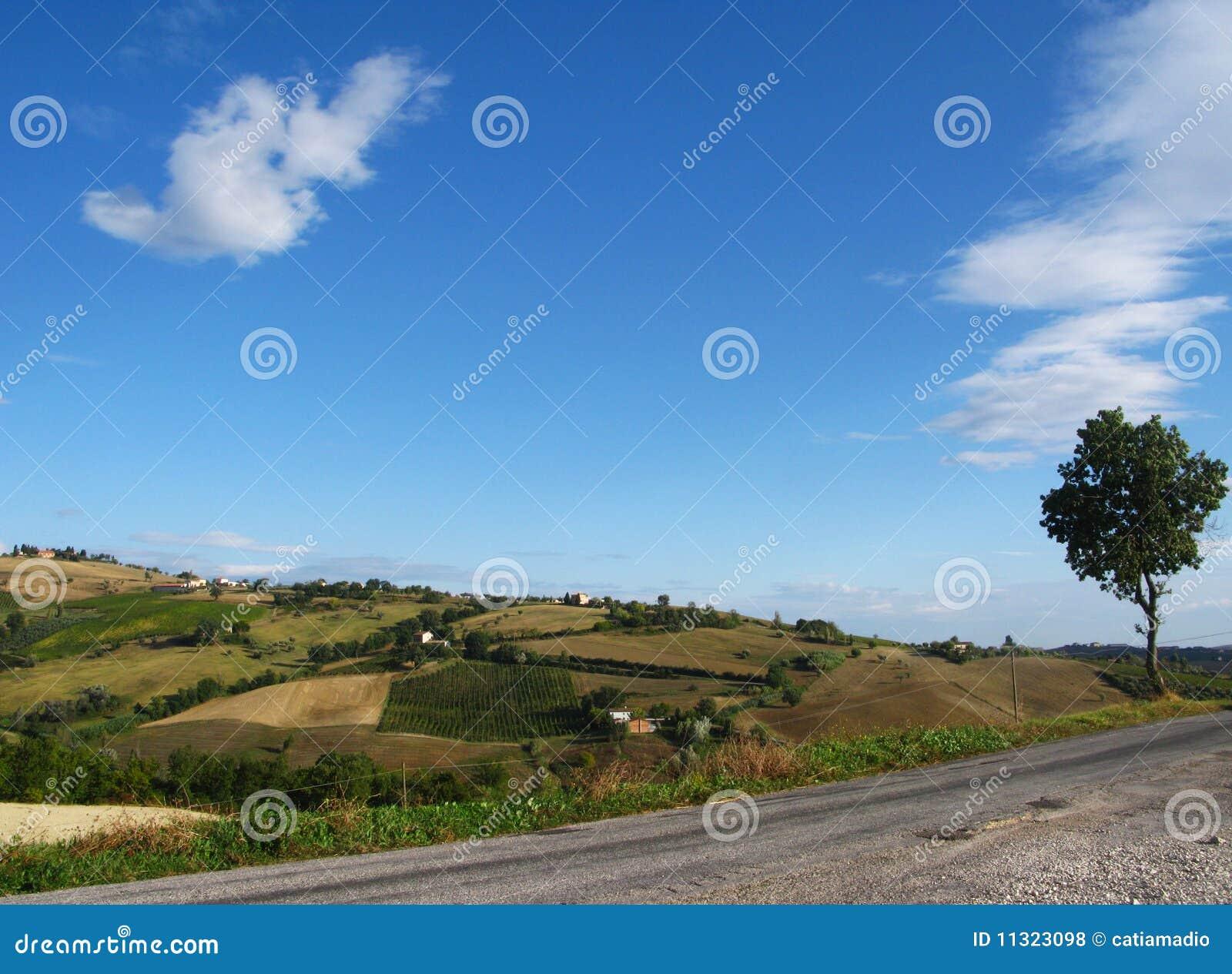 Italienische Hügel