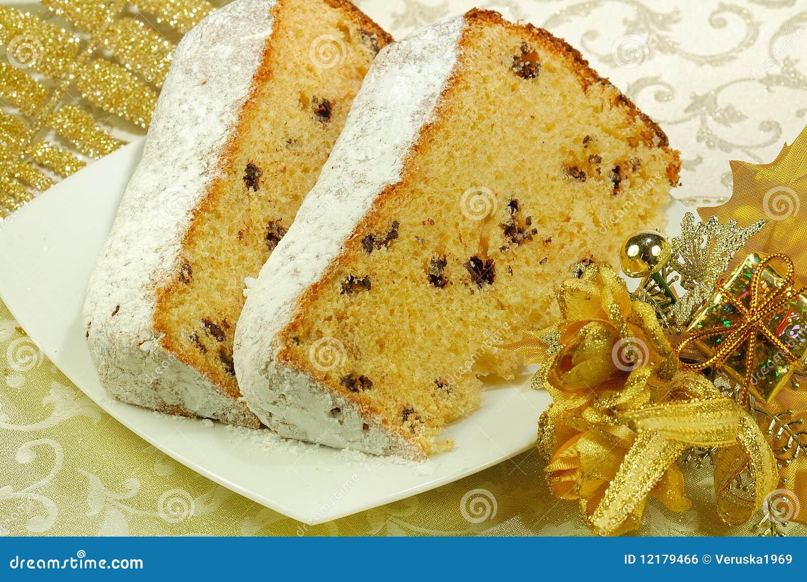 Italienischer Kuchen Stockfoto Bild Von Weihnachten 12179466