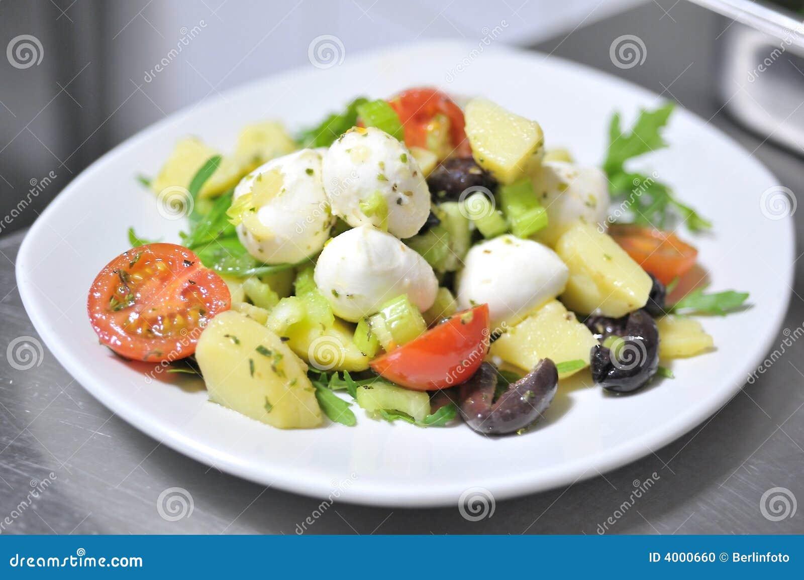 italienischer salat stockfoto bild 4000660. Black Bedroom Furniture Sets. Home Design Ideas