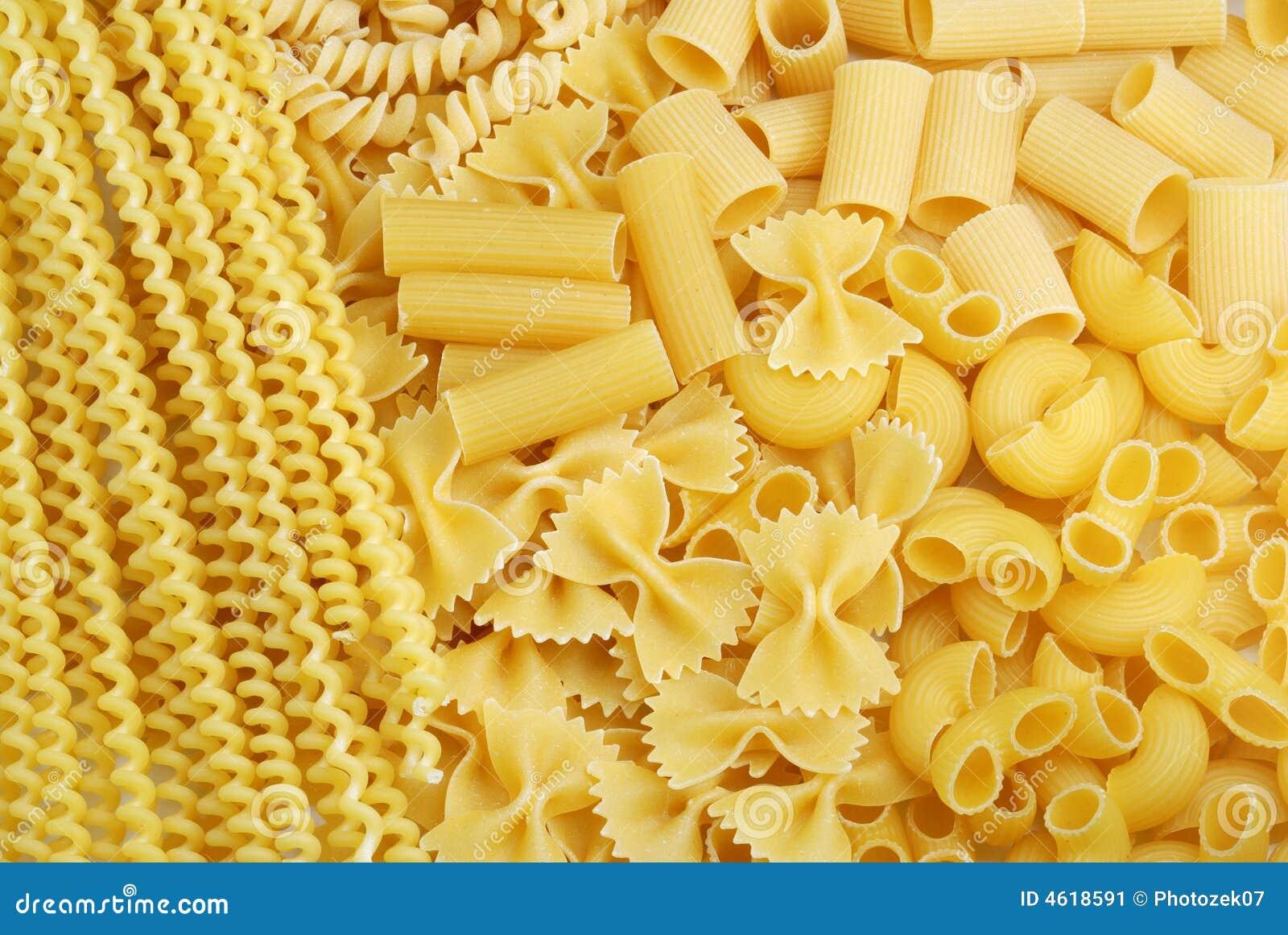 Italienischer Teigwarenhintergrund