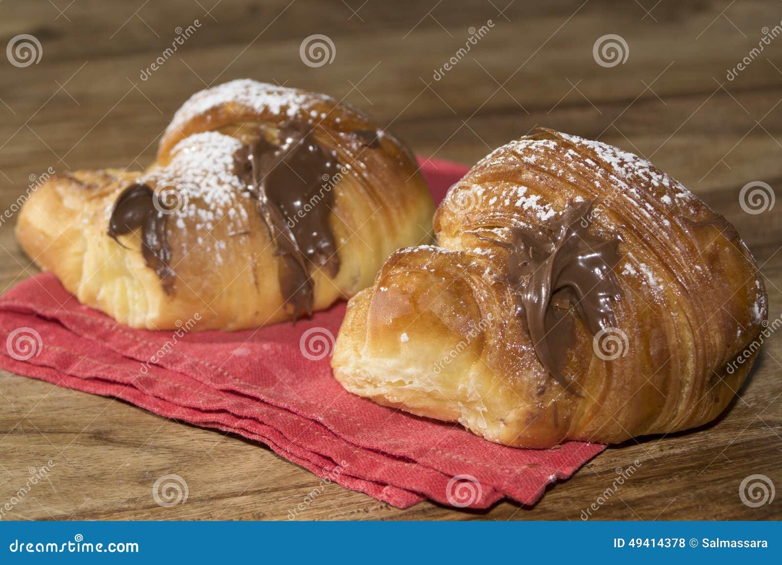 Download Italienisches Frühstück stockfoto. Bild von imbiß, nachtisch - 49414378